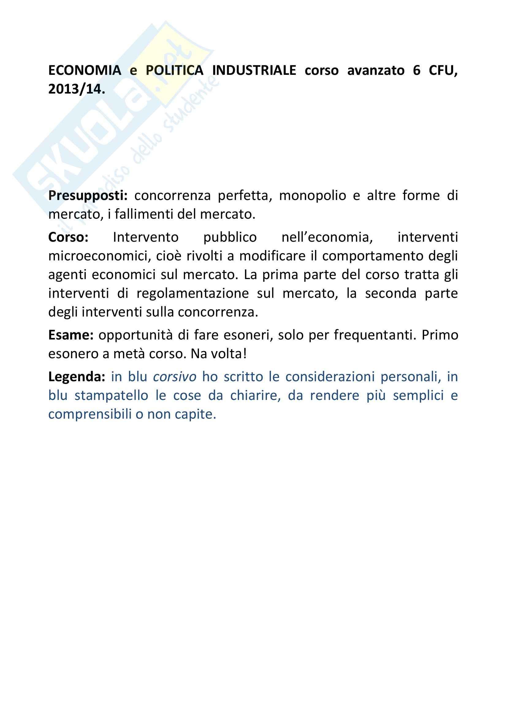 Riassunto esame Economia, prof. Ferrari, libro consigliato Regolazione dei servizi infrastrutturali, teoria e pratica,Marzi, Prosperetti, Putzu