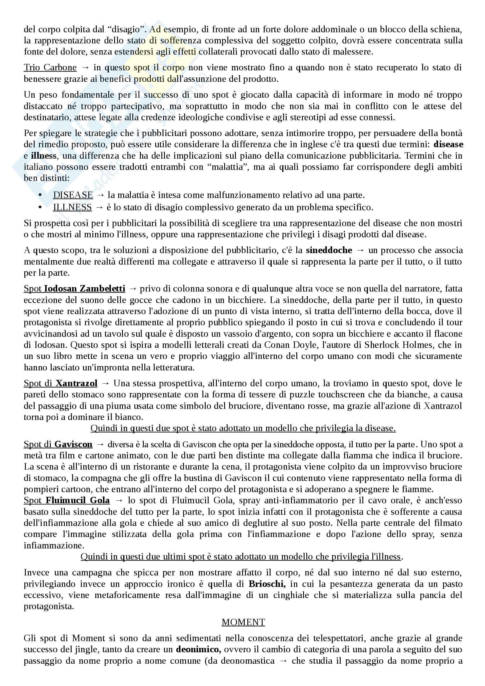 Riassunto esame linguistica e sociolinguistica, prof. Dragotto, libro consigliato Non solo marketing, Dragotto Pag. 11