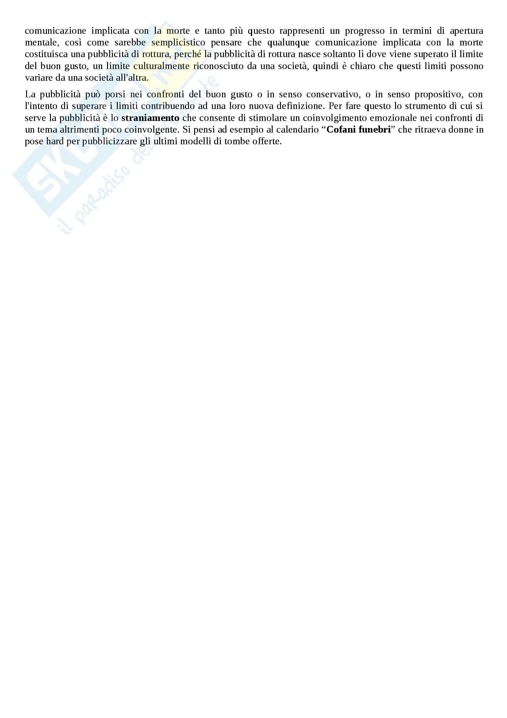 Riassunto esame linguistica e sociolinguistica, prof. Dragotto, libro consigliato Non solo marketing, Dragotto Pag. 16