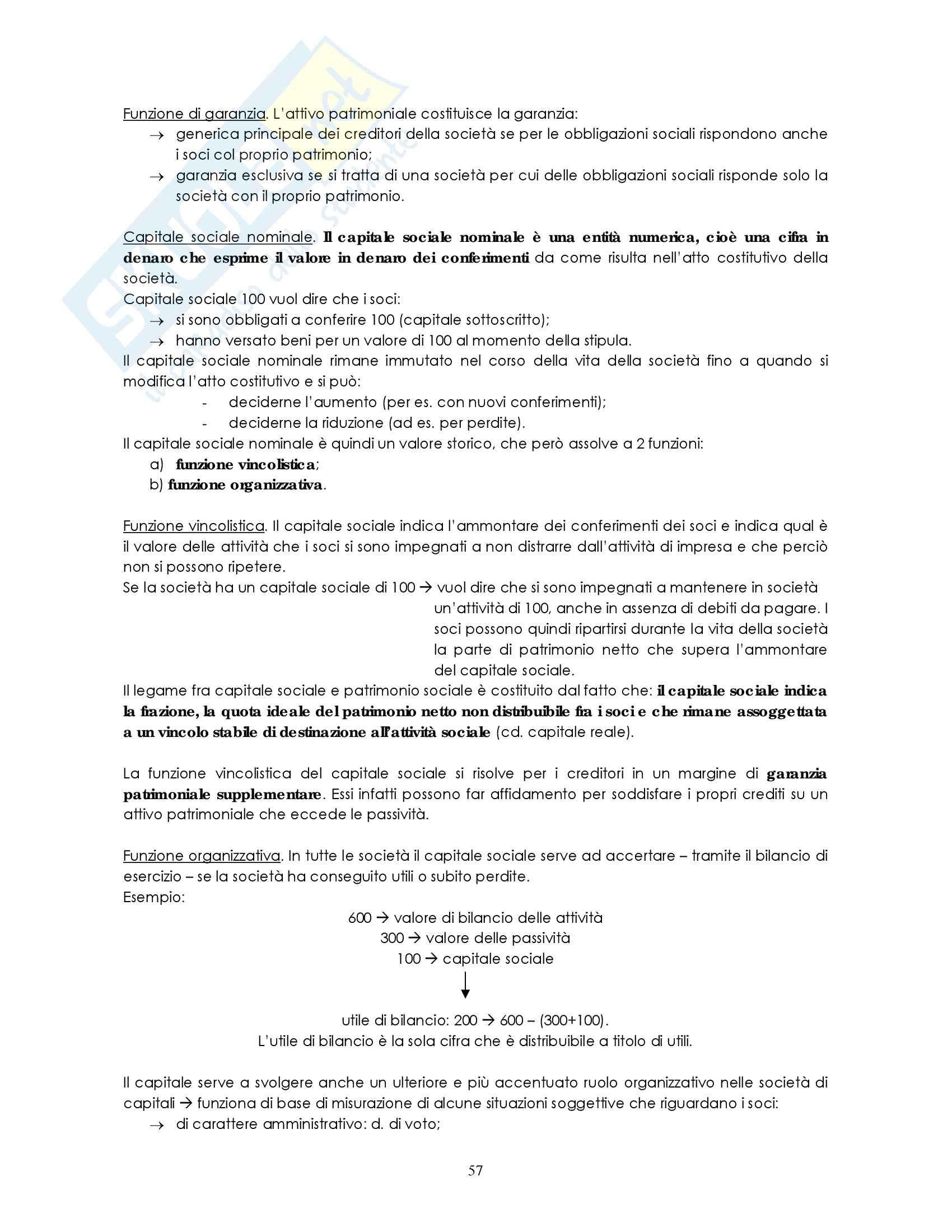 Riassunto esame Diritto commerciale, prof. Weigmann, libro consigliato Manuale di diritto commerciale, Campobasso: contratto società Pag. 2