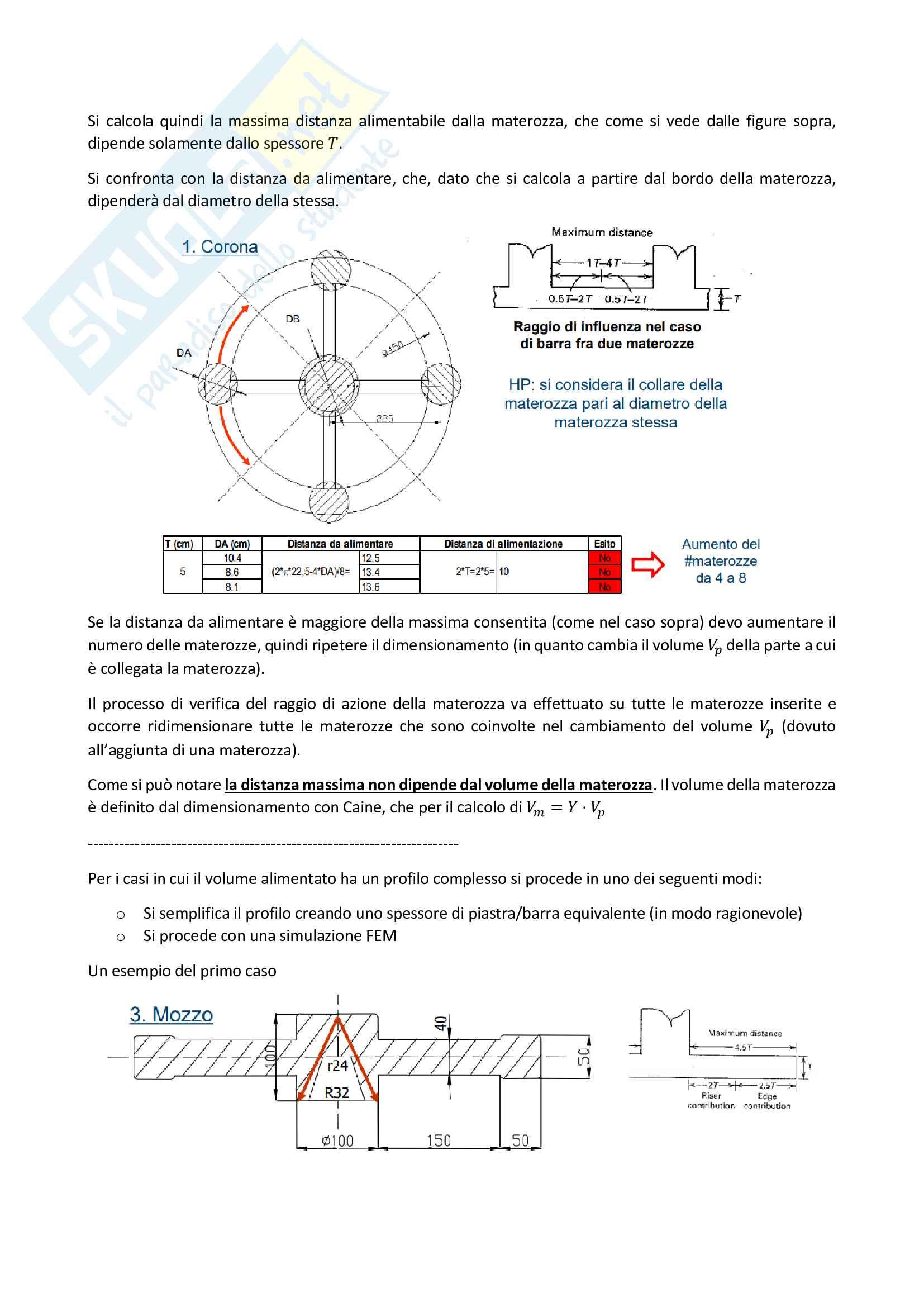 Risoluzione Esercizi di Fonderia - Completo Pag. 6