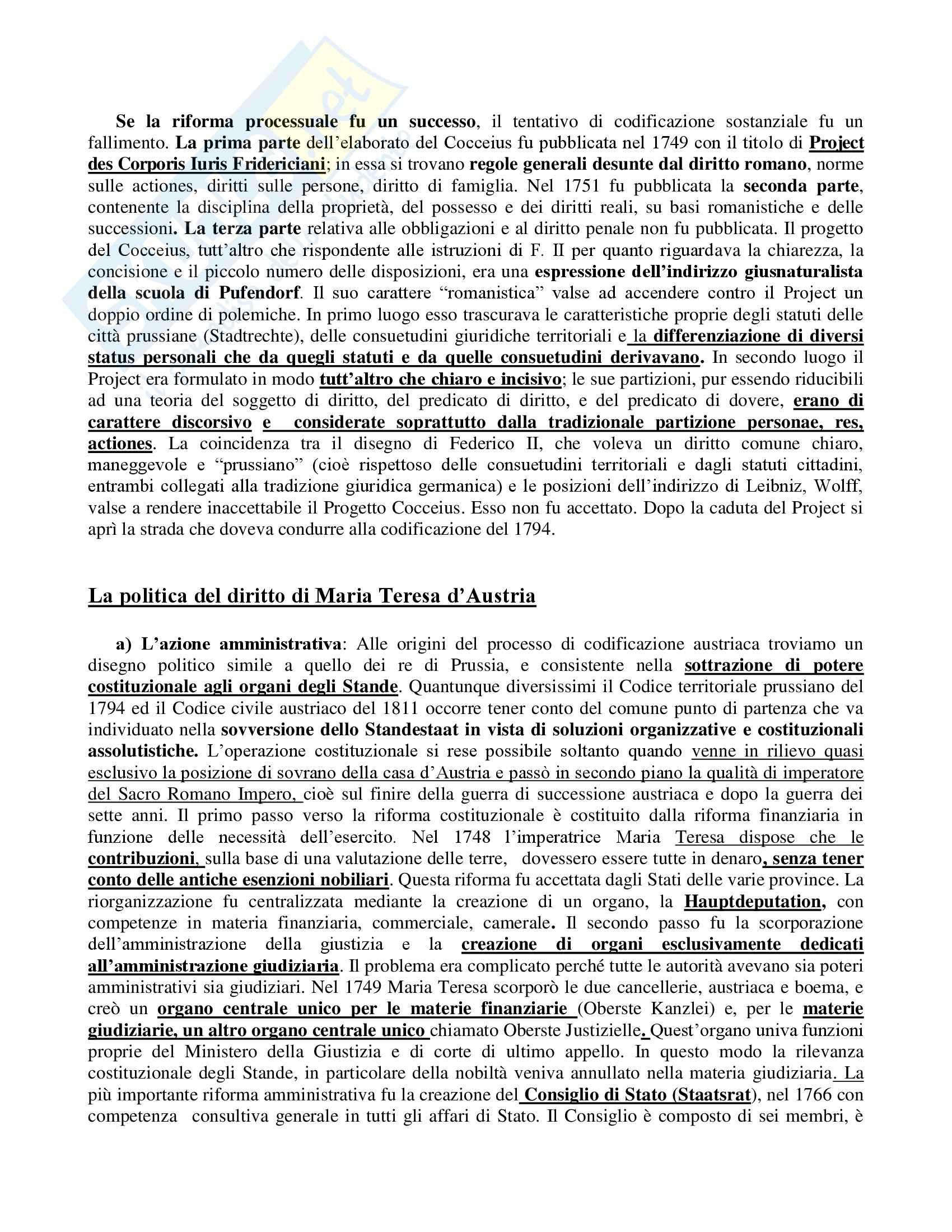 Storia del diritto medievale e moderno - parte Moderna Pag. 16