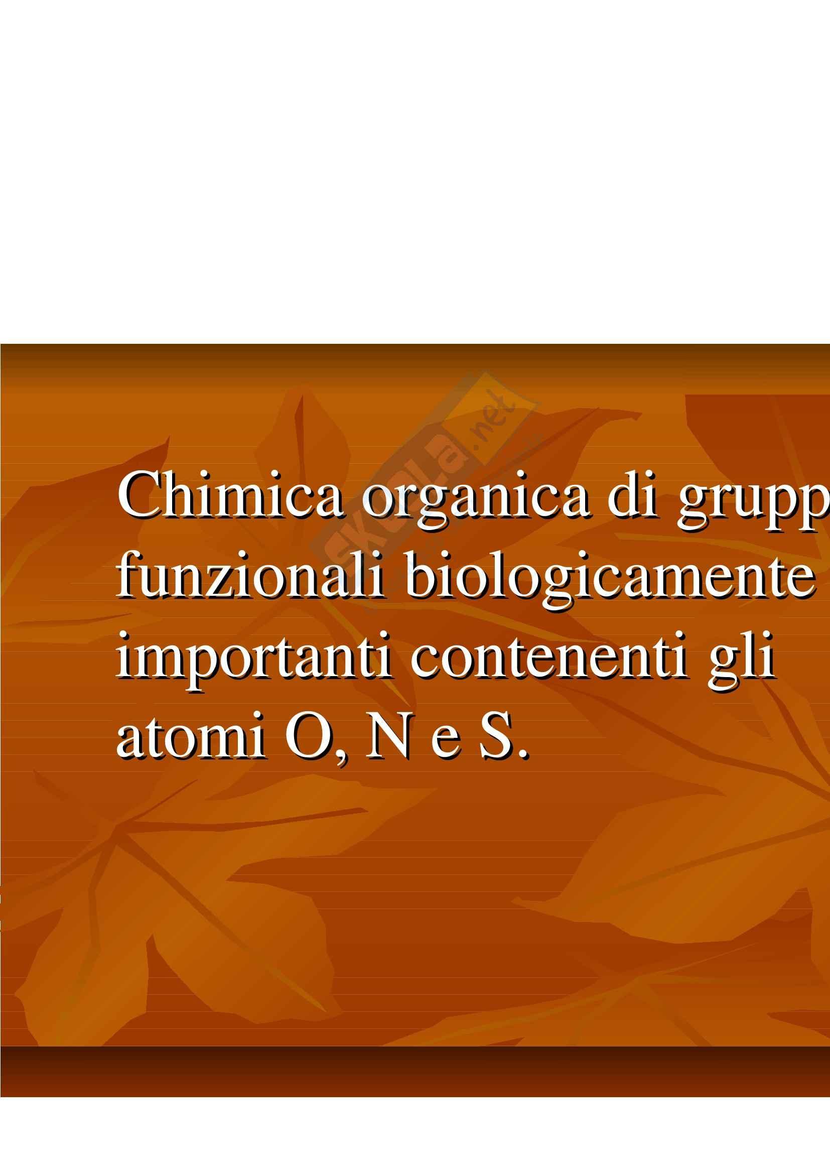 Biochimica e biologia molecolare - alcoli e fenoli