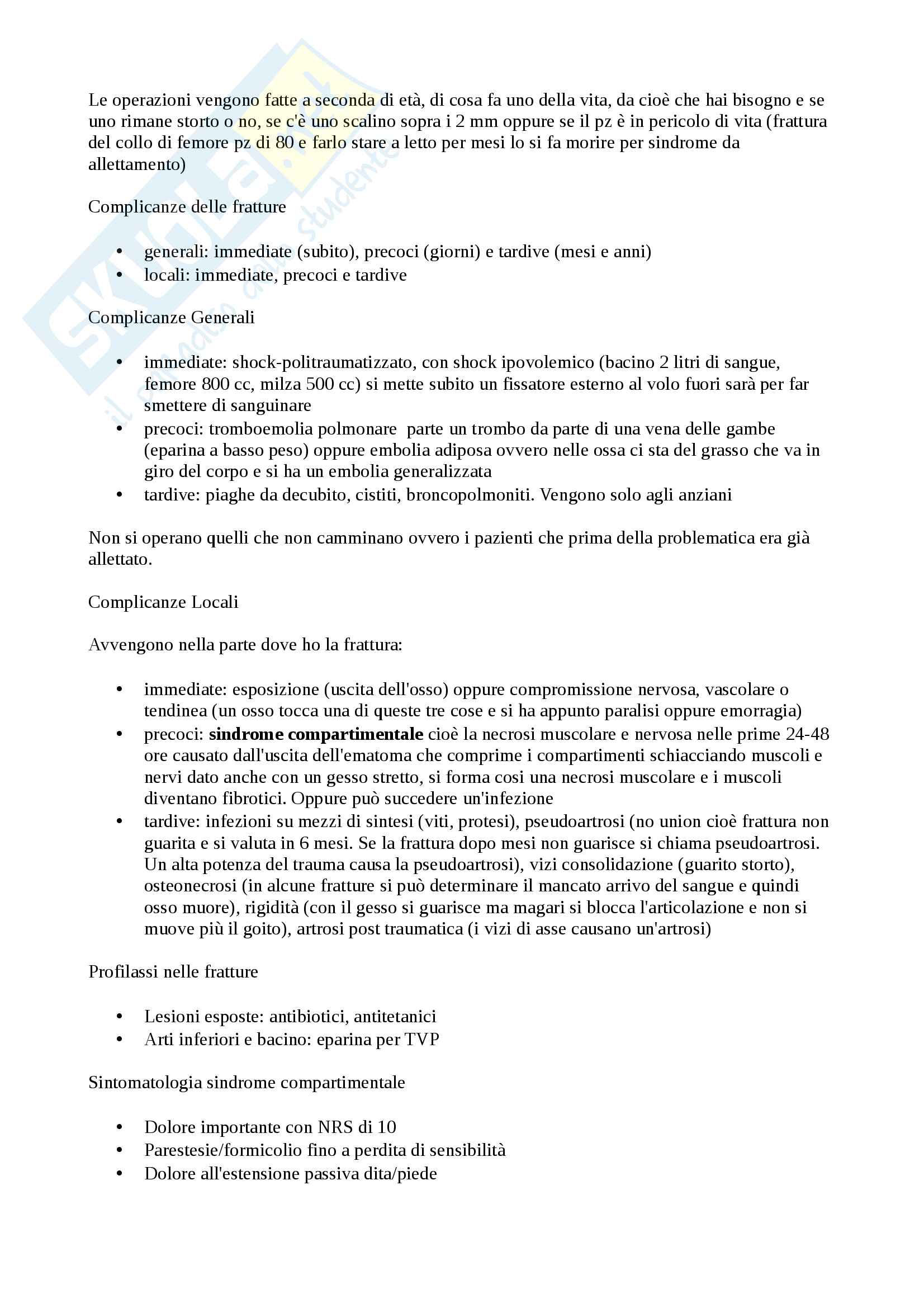 Ortopedia generale Pag. 6