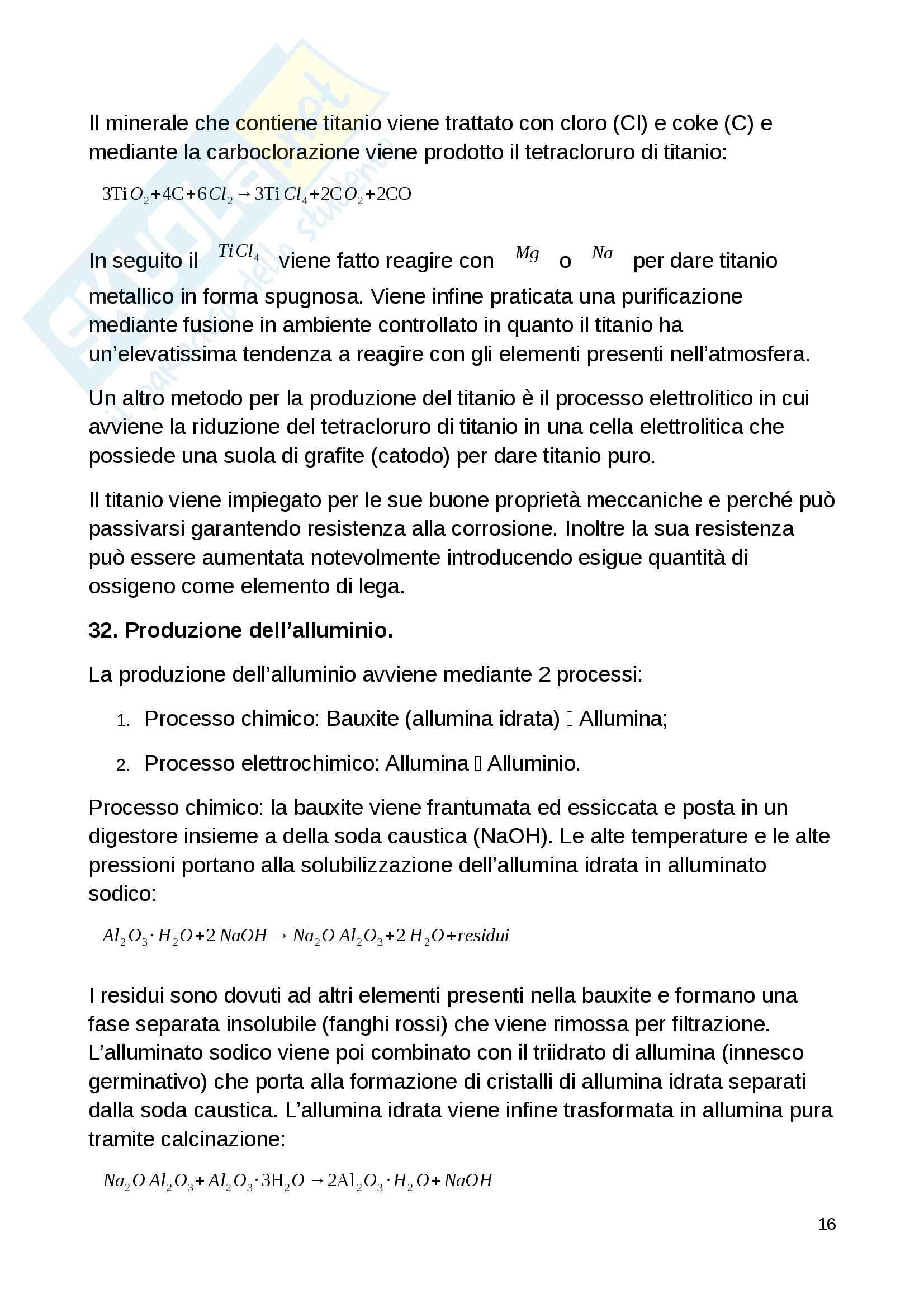 Domande d'esame Scienza e Tecnologia dei Materiali Pag. 16