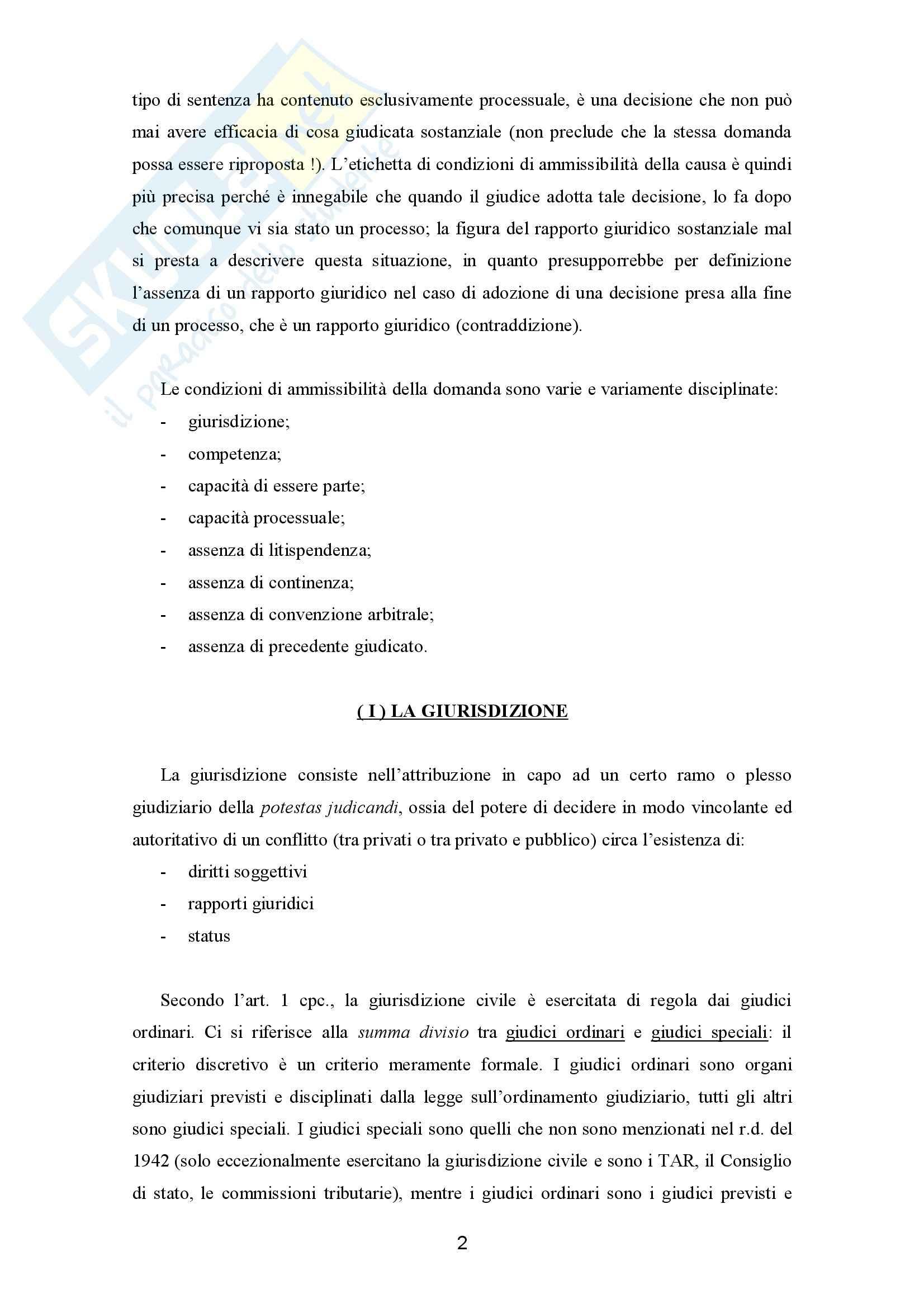 Presupposti processuali Pag. 2