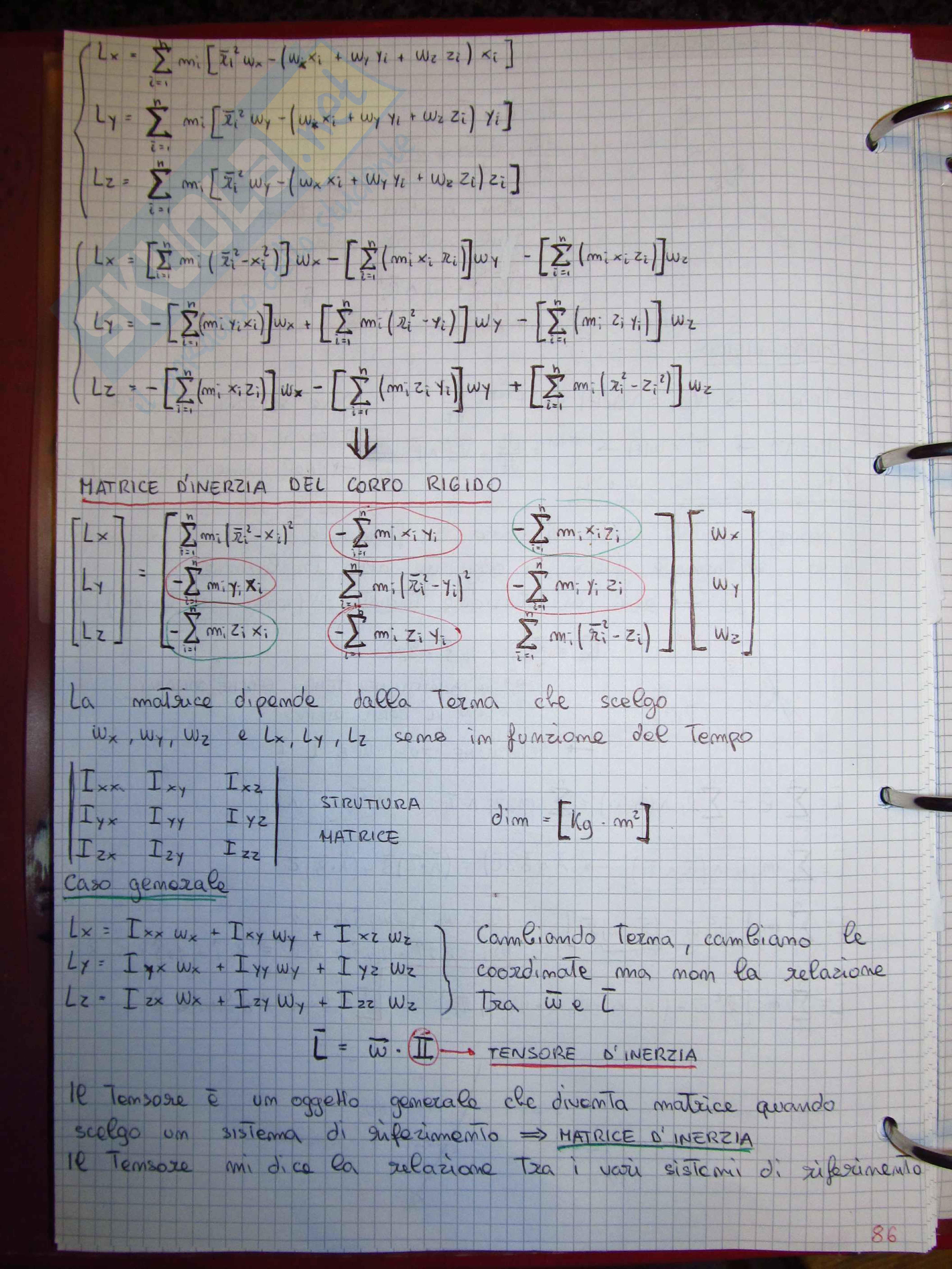 Fisica Generale: meccanica e termodinamica - Teoria Pag. 86
