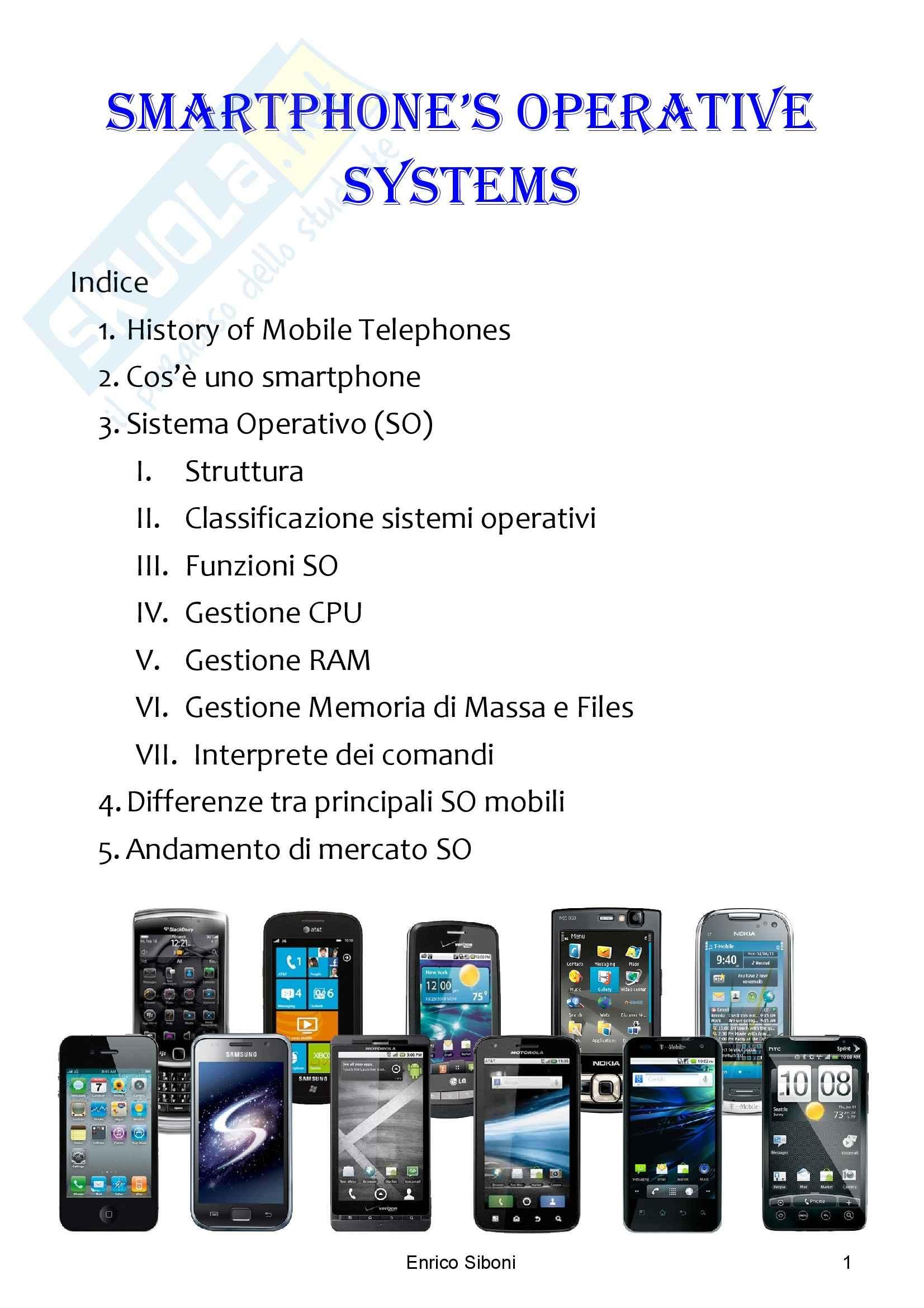 Sistemi Operativi Mobili - Tesi
