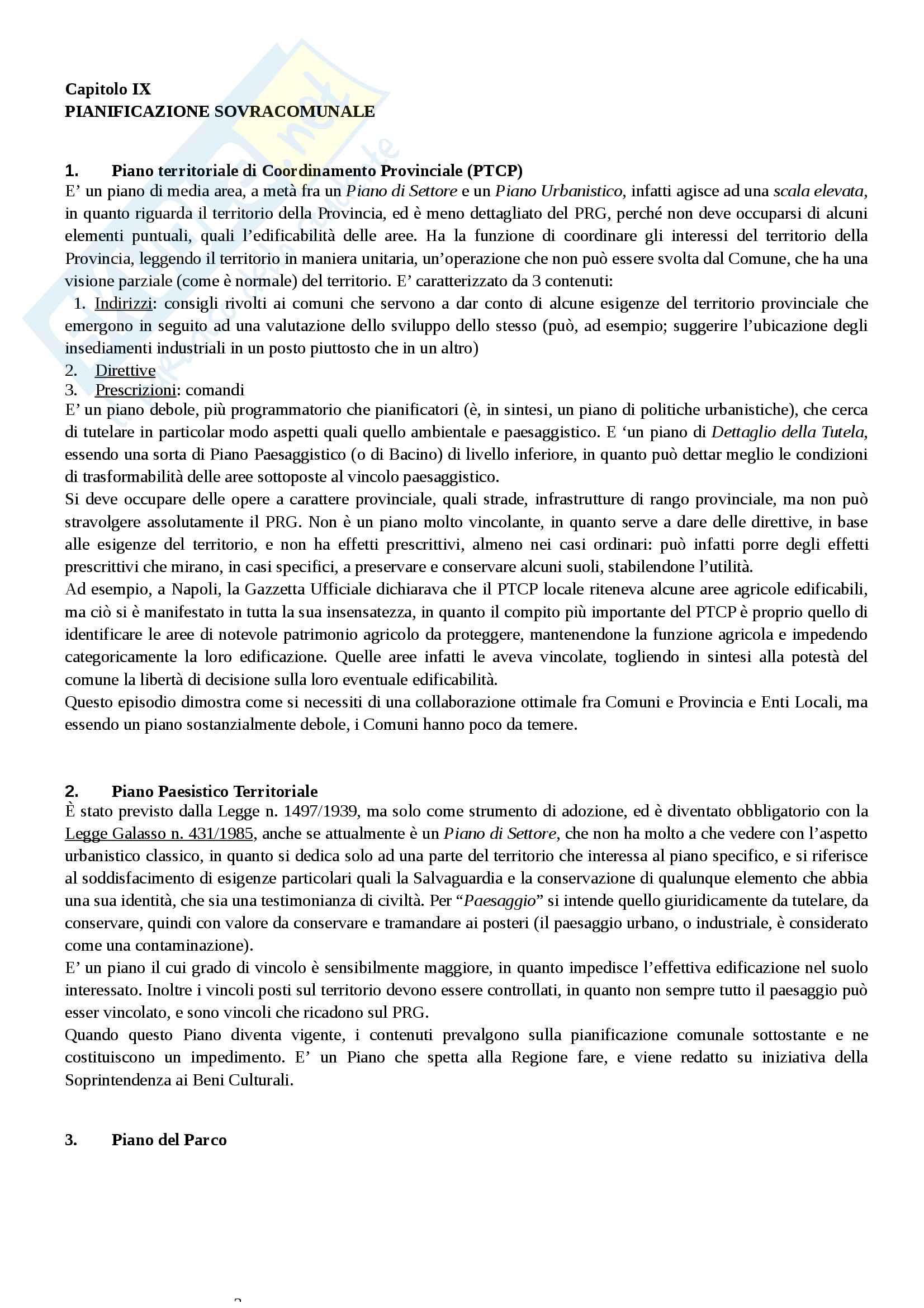 Appunti prof Urbani - Diritto urbanistico Pag. 21