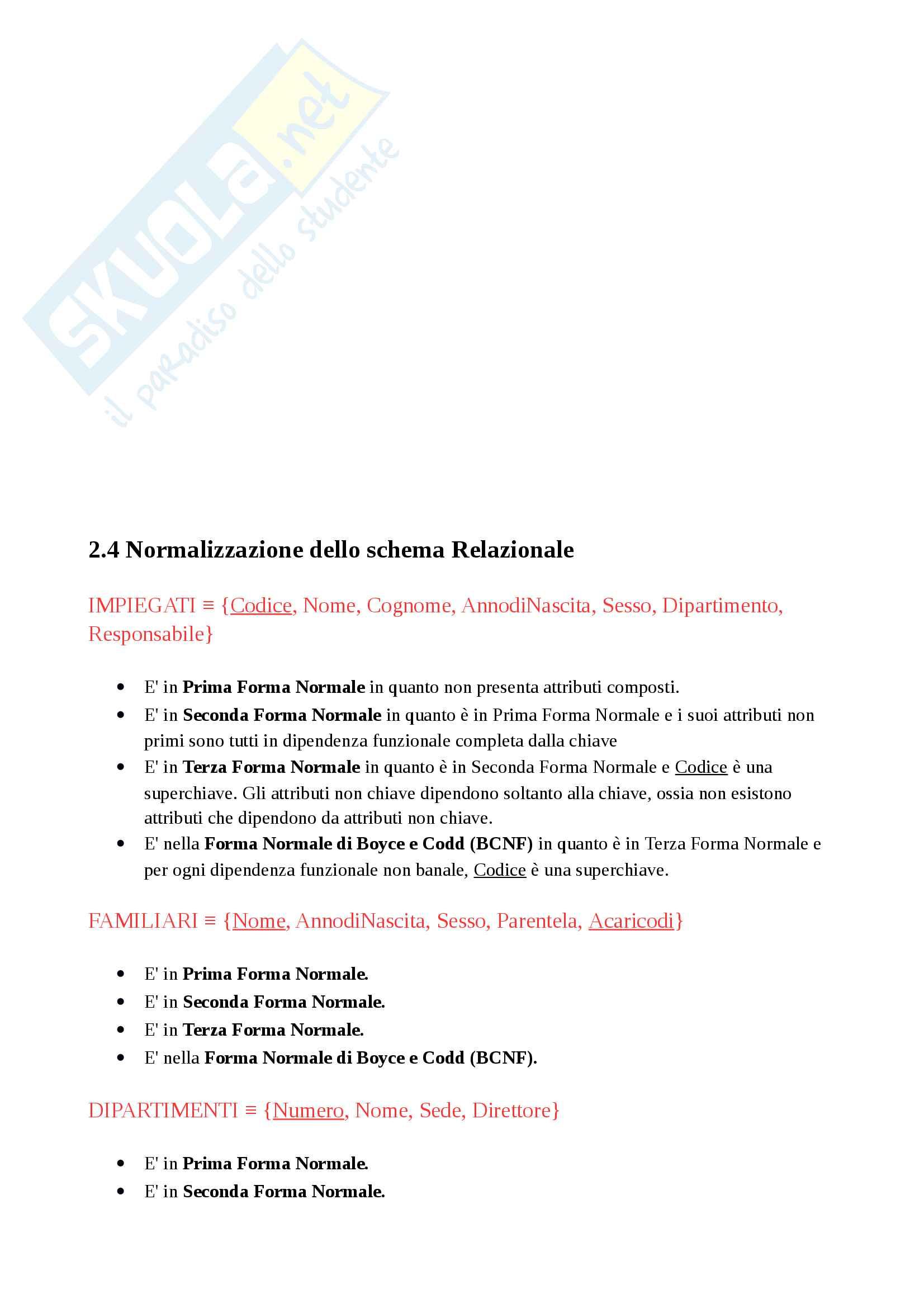Progetto basi di dati (tesina SQL - database) Pag. 16