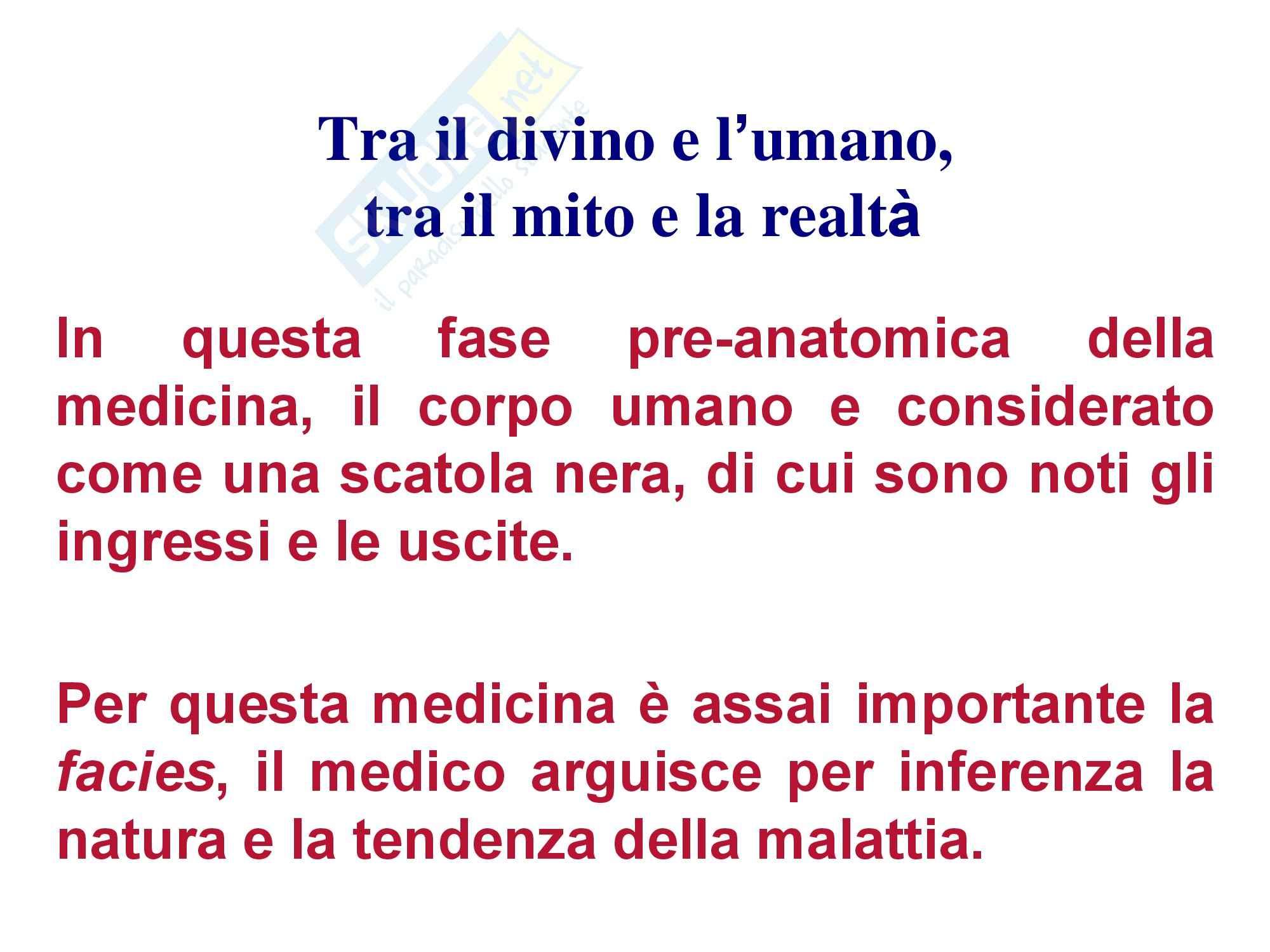 Storia della medicina - Da età classica a moderna Pag. 16