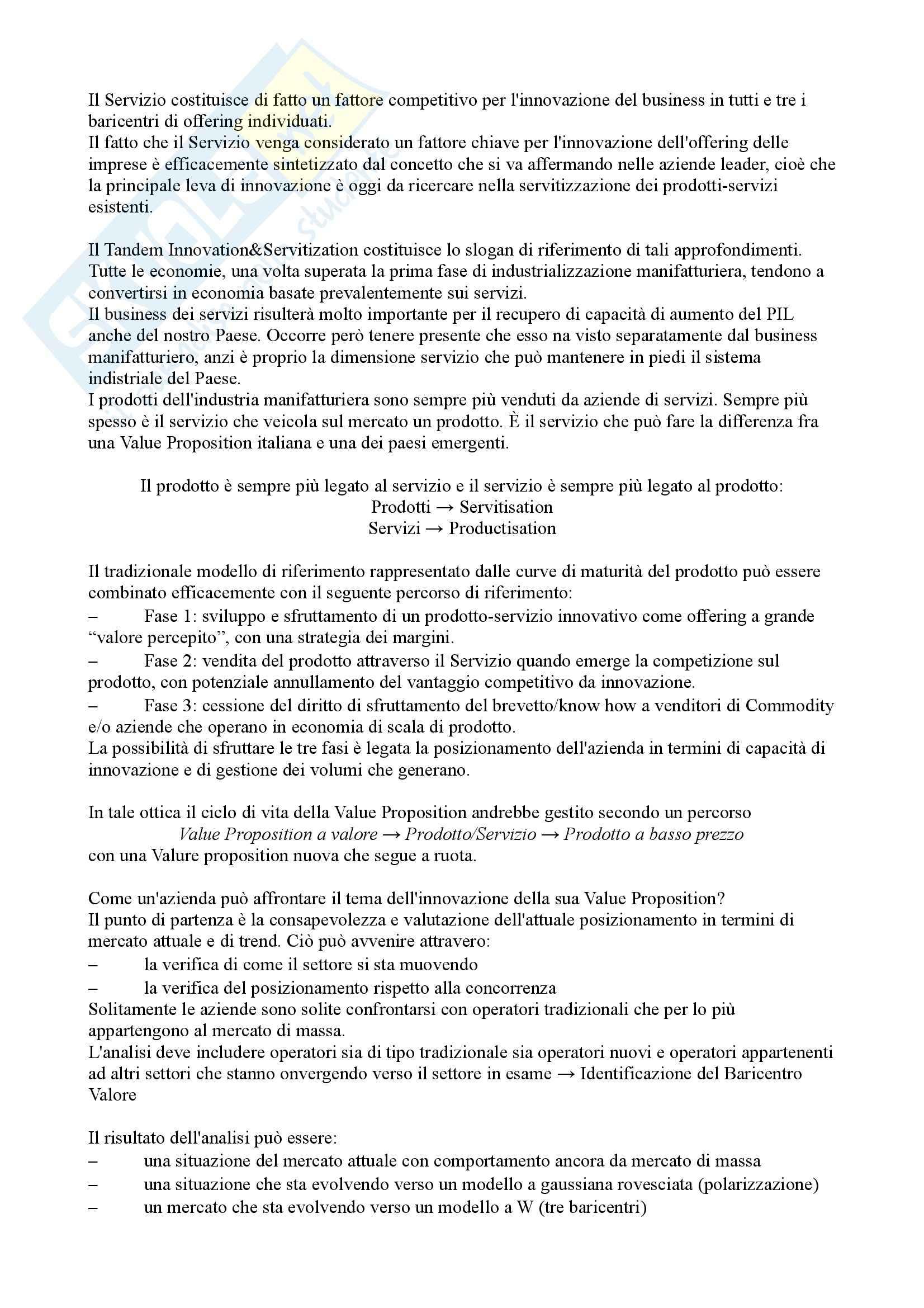 Riassunto esame Comunicazione d'impresa, prof. Magagnino, libro consigliato Marketing driven management, Lambin Pag. 21