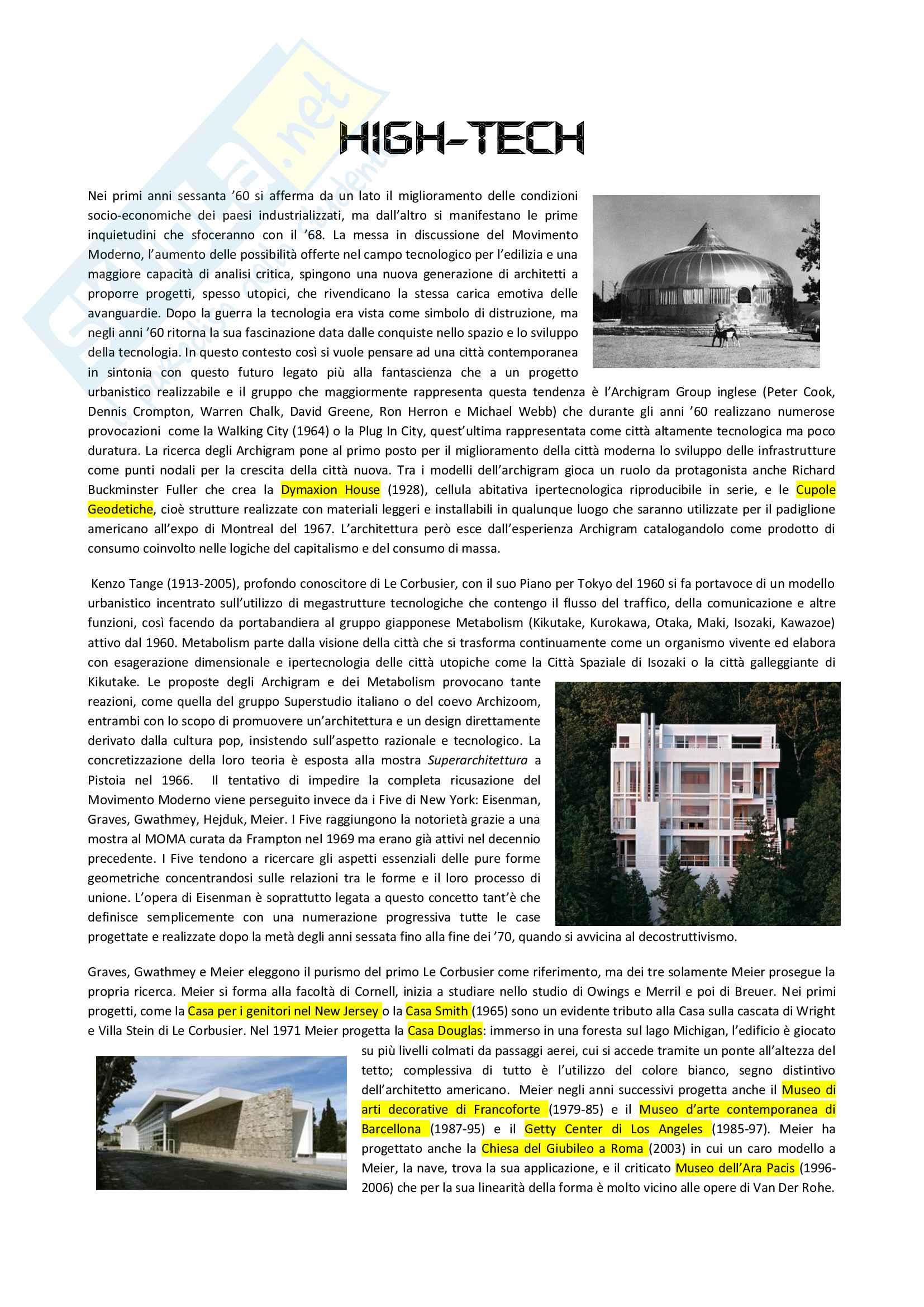 Hi-tech: Renzo Piano, Santiago Calatrava, Norman Foster e Jean Nouvel