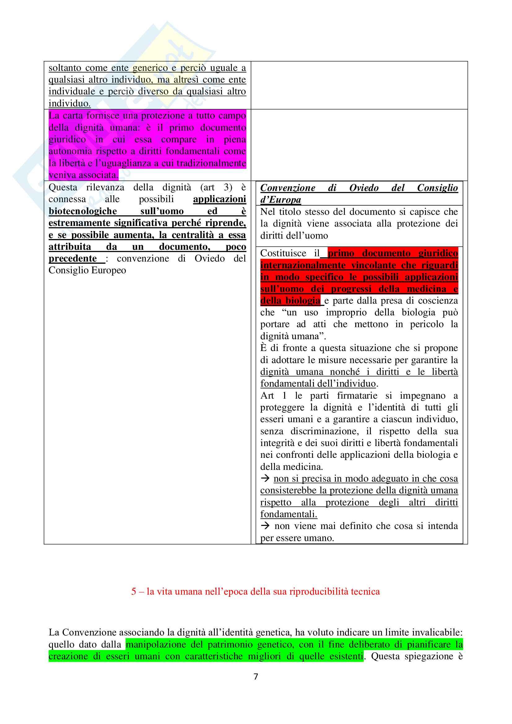 Riassunto esame Filosofia del Diritto Privato, prof. Becchi, libro consigliato Il Principio di Dignità Umana Pag. 6