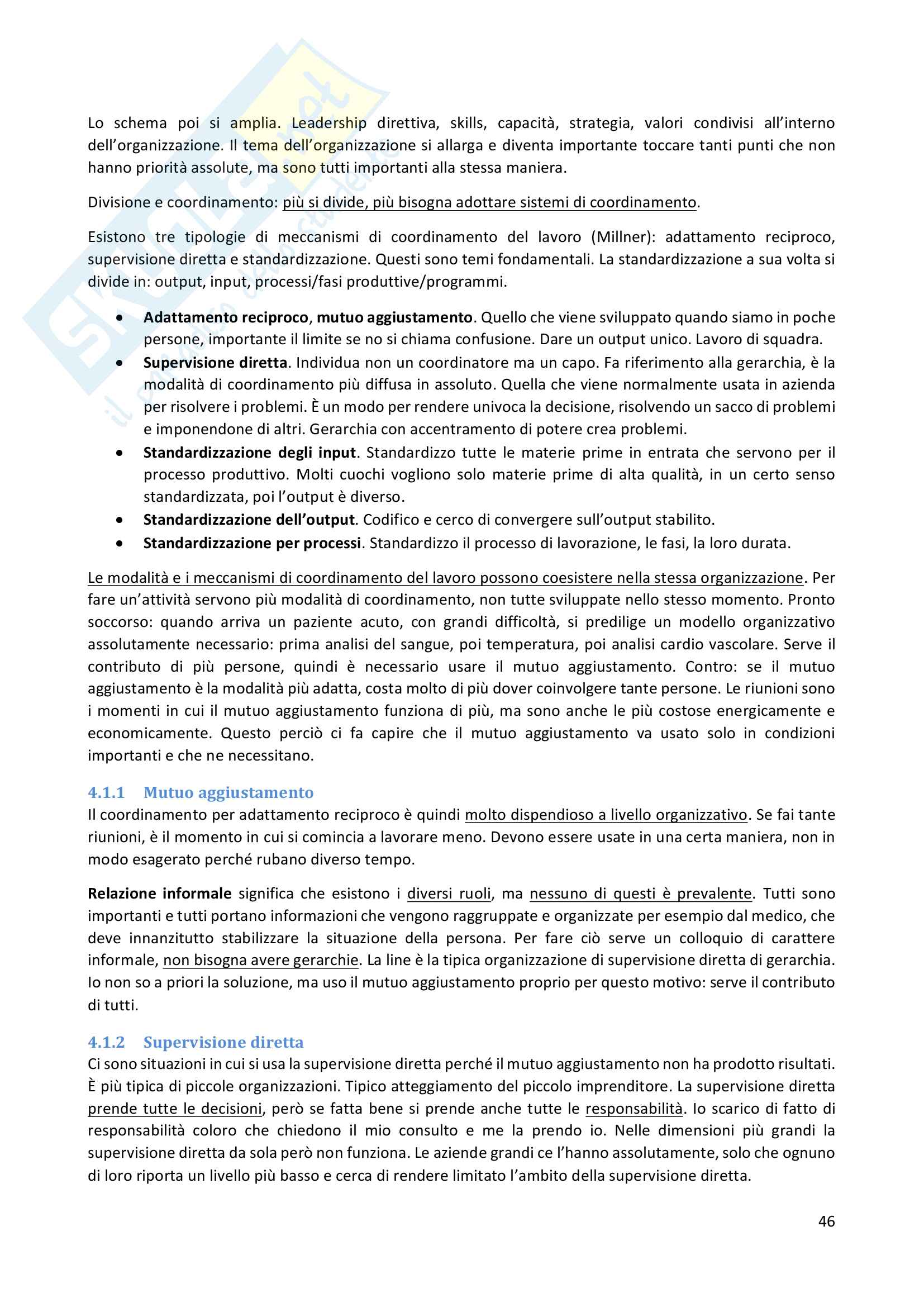 Economia e Gestione delle Imprese Pag. 46