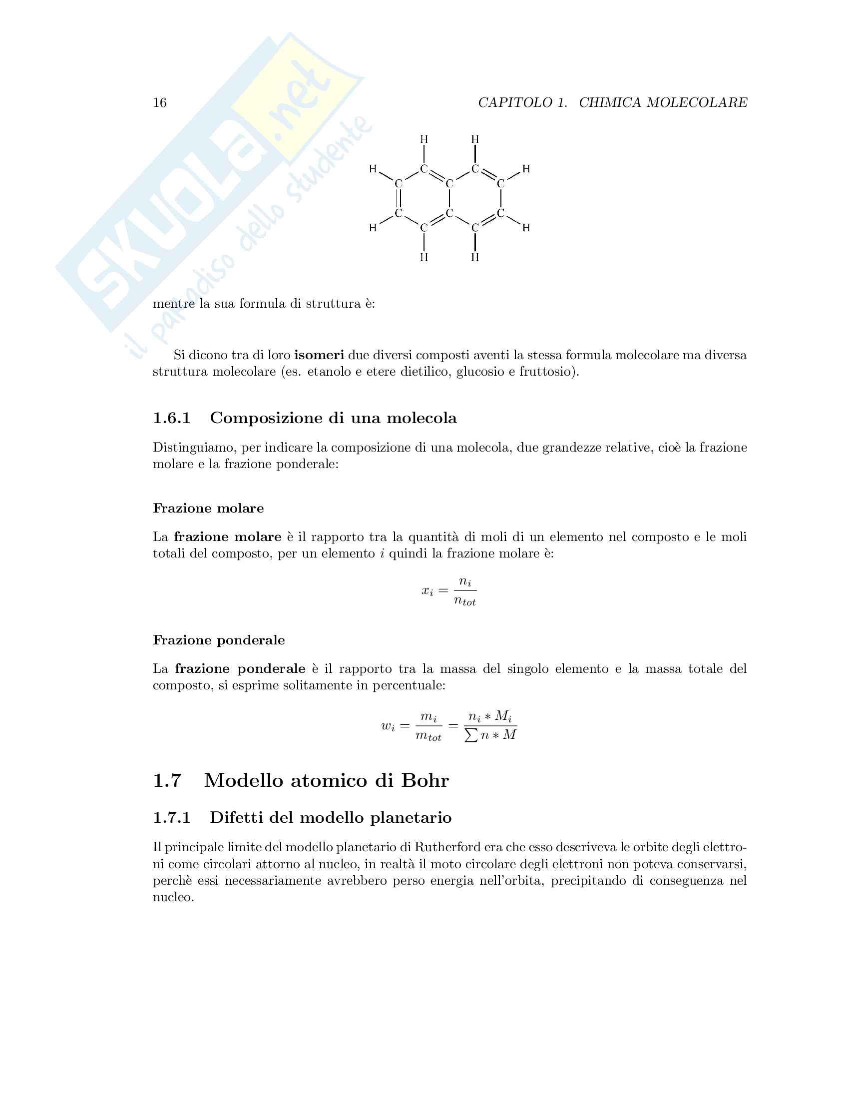 Appunti di Fondamenti di Chimica T Pag. 16