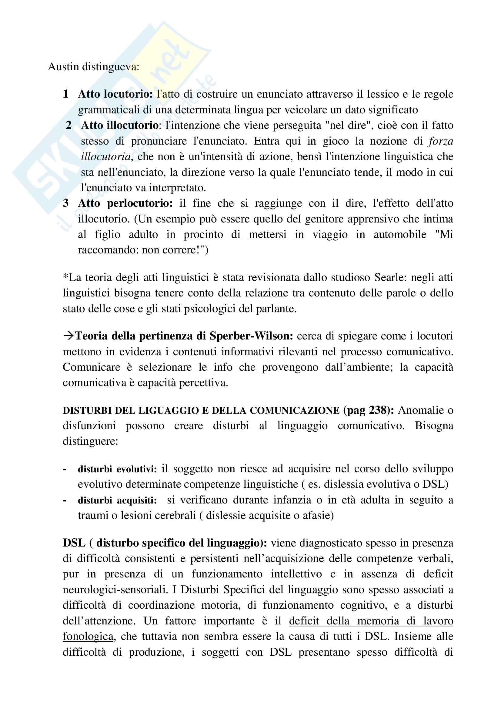Riassunto esame psicologia generale, prof.ssa Cicogna, libro consigliato Psicologia generale, Cicogna, Occhionero Pag. 41