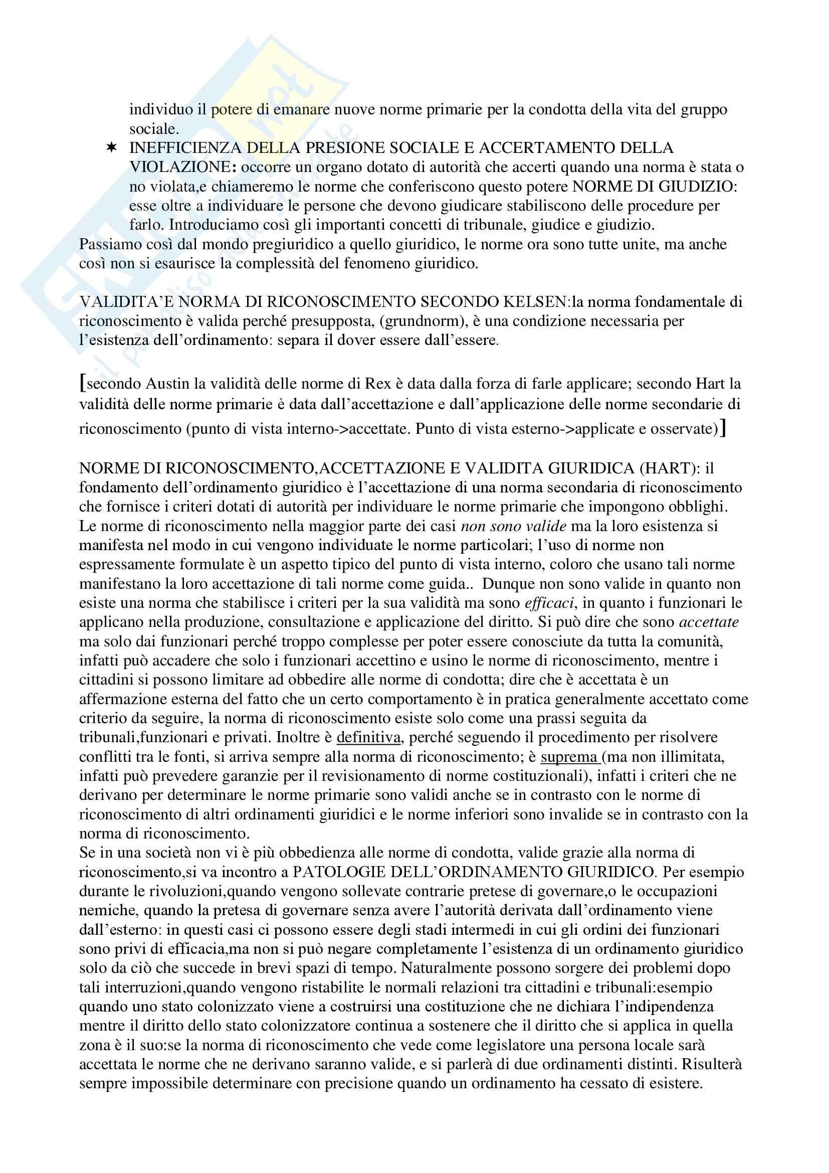 Teoria generale del diritto - Appunti Pag. 11