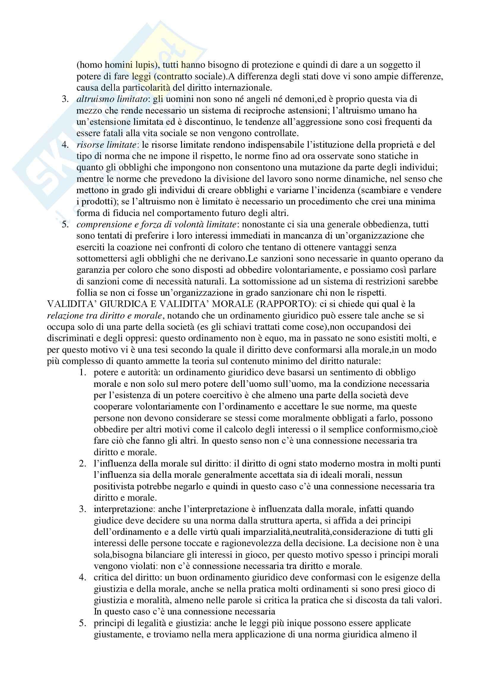 Teoria generale del diritto - Appunti Pag. 16