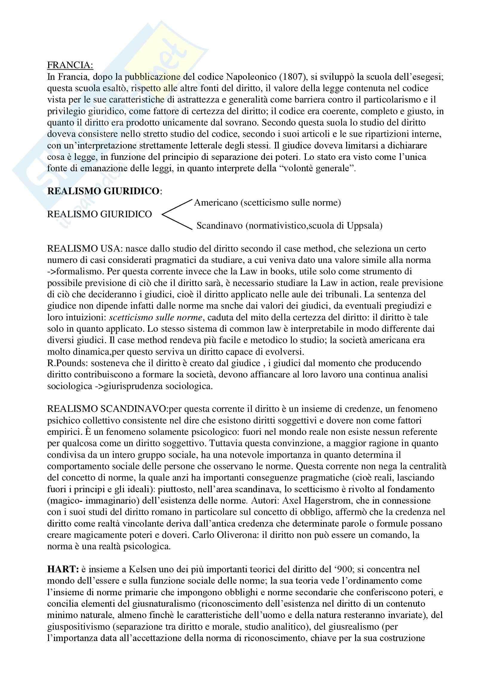 Teoria generale del diritto - Appunti Pag. 6