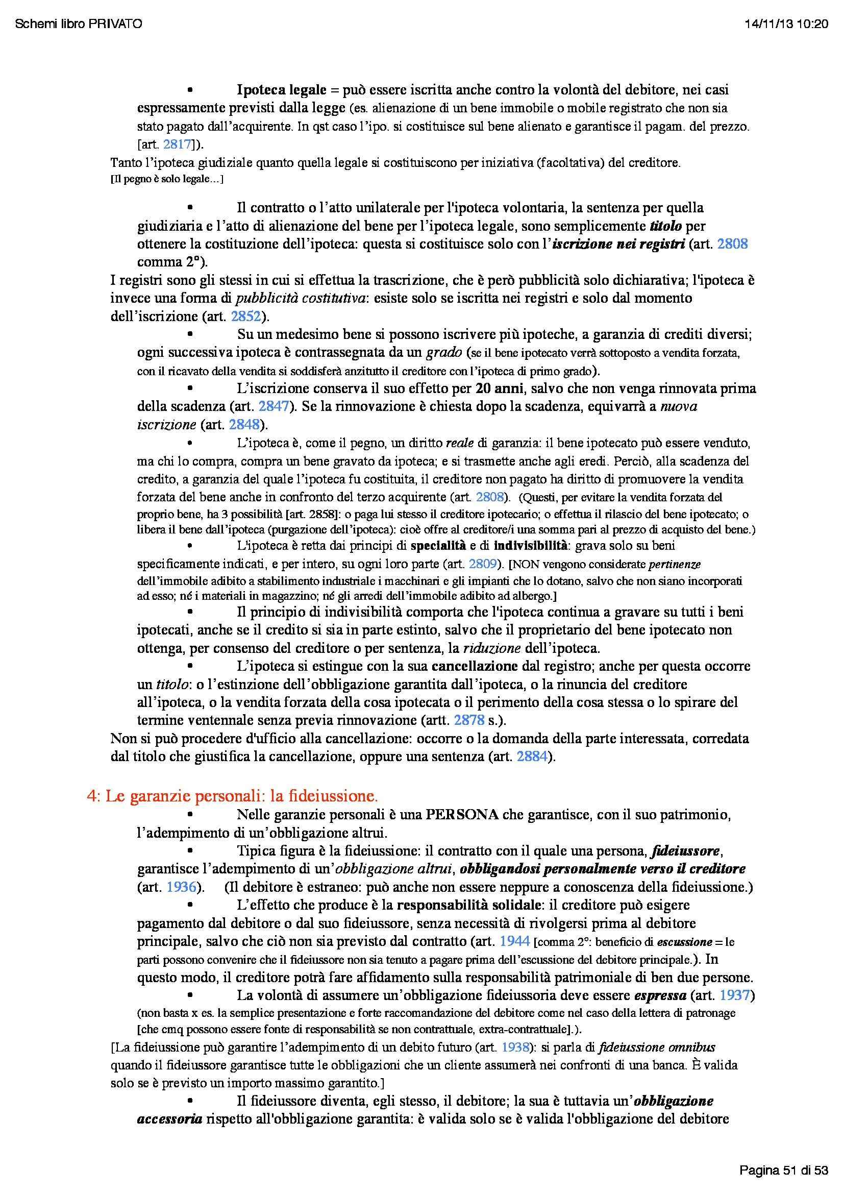 Riassunto esame Istituzioni di Diritto Commerciale, prof. Butturini, libro consigliato Istituzioni di Diritto Privato, Galgano Pag. 51