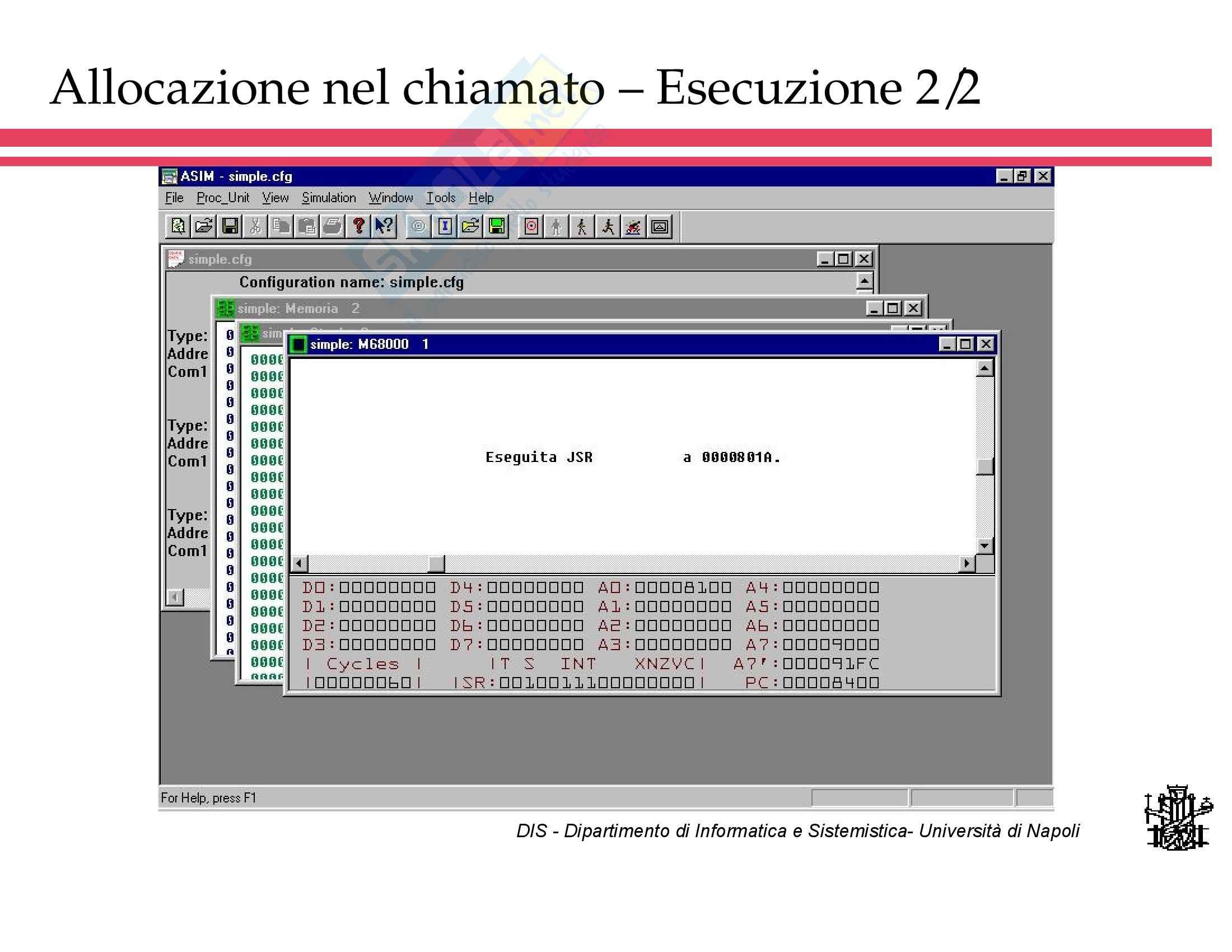 Calcolatori Elettronici II Pag. 61