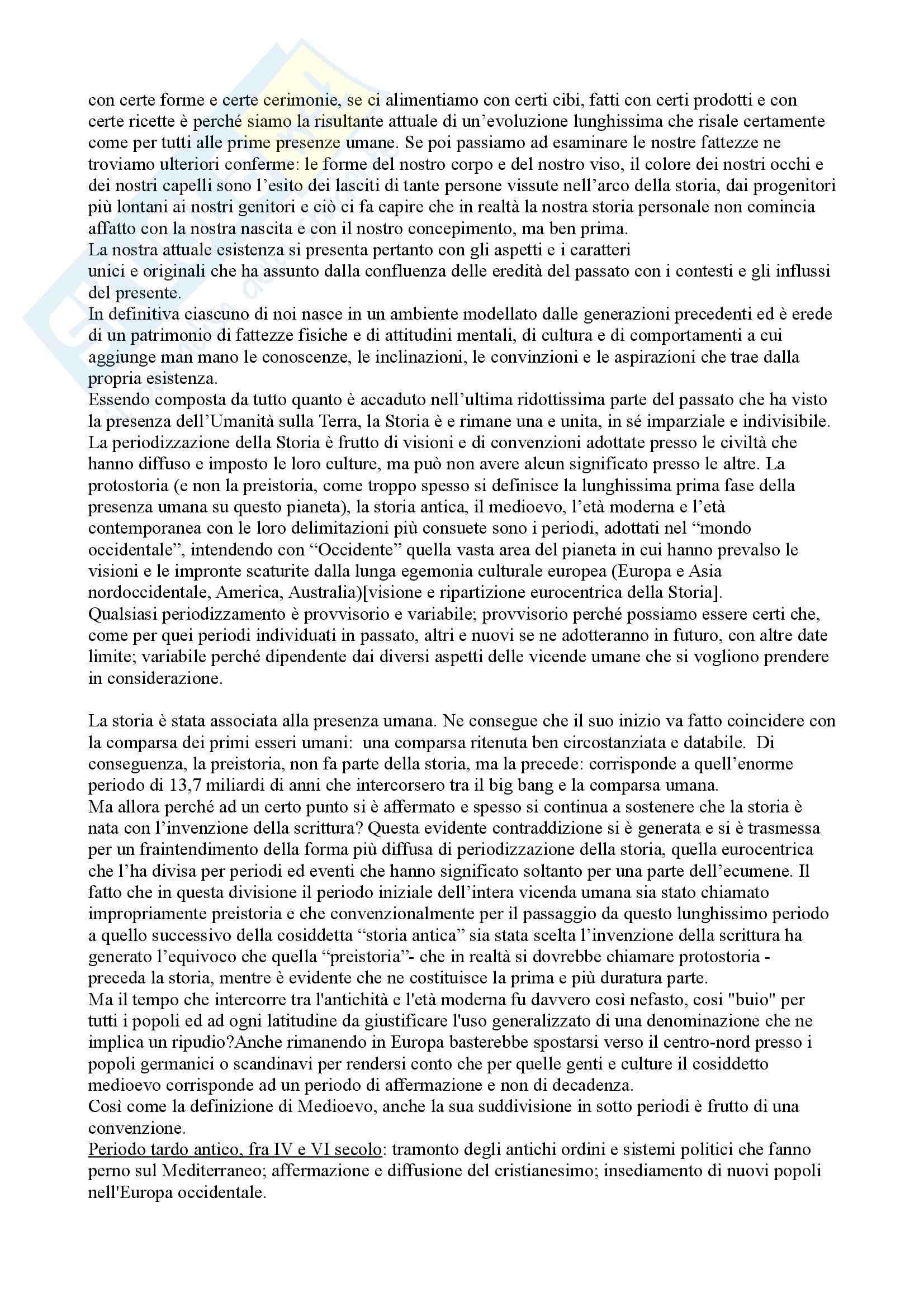 Riassunto esame Storia medievale, prof. Di Carpegna, libro consigliato Quel tempo chiamato Medioevo, Dondarini Pag. 2