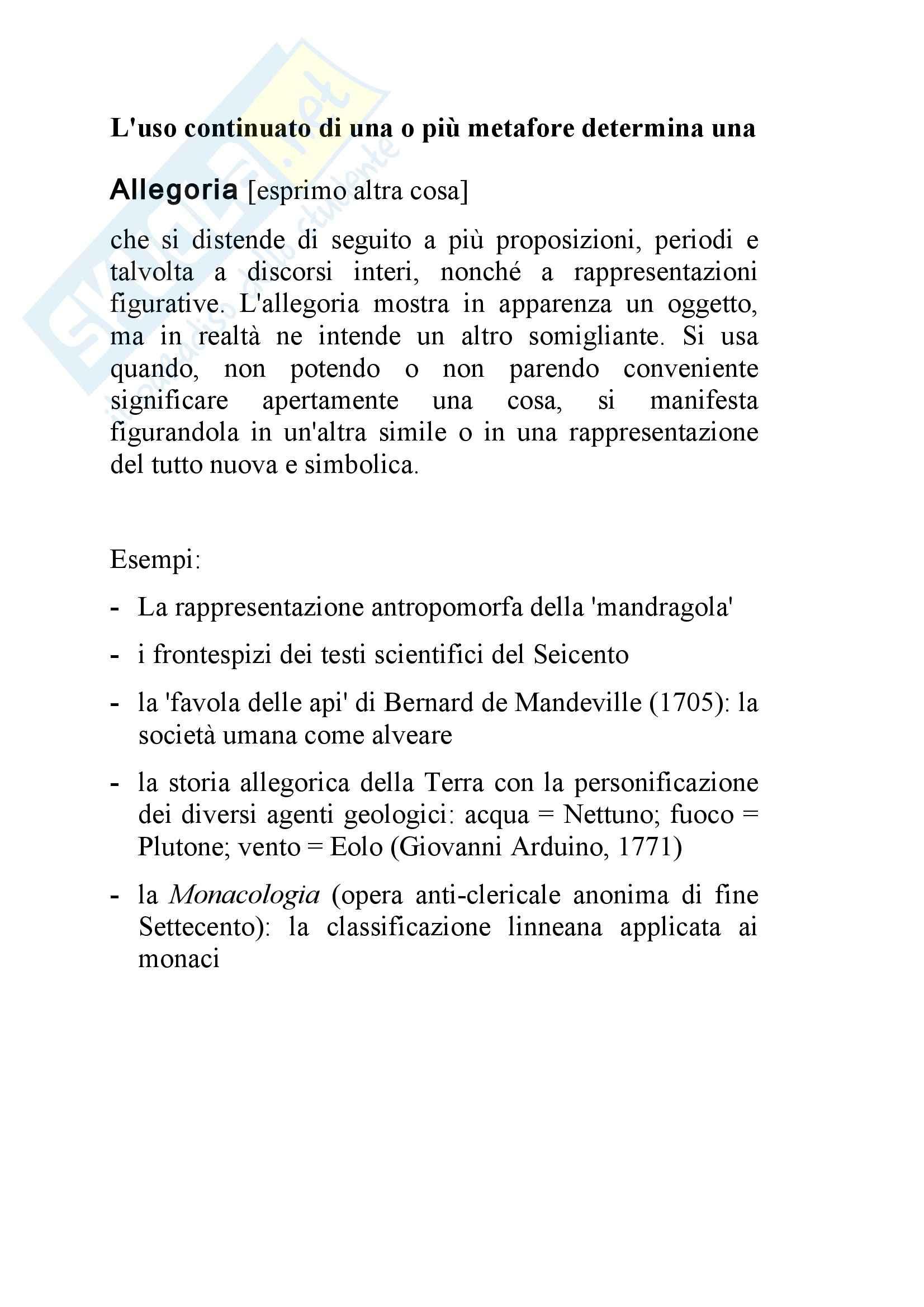 semiotica - metafora e analogia nella scienza Pag. 6