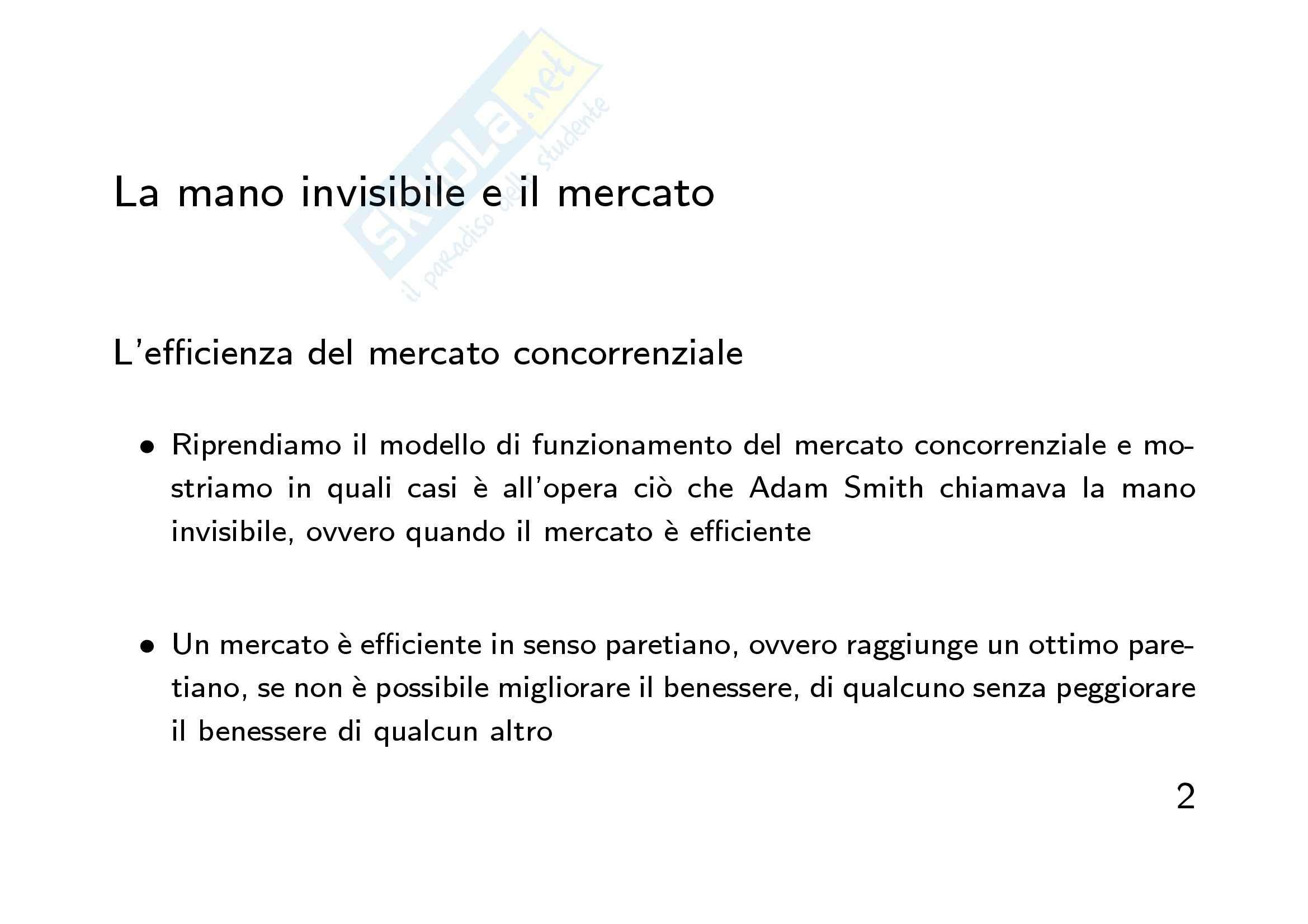 Economia finanziaria - la  mano invisibile Pag. 2