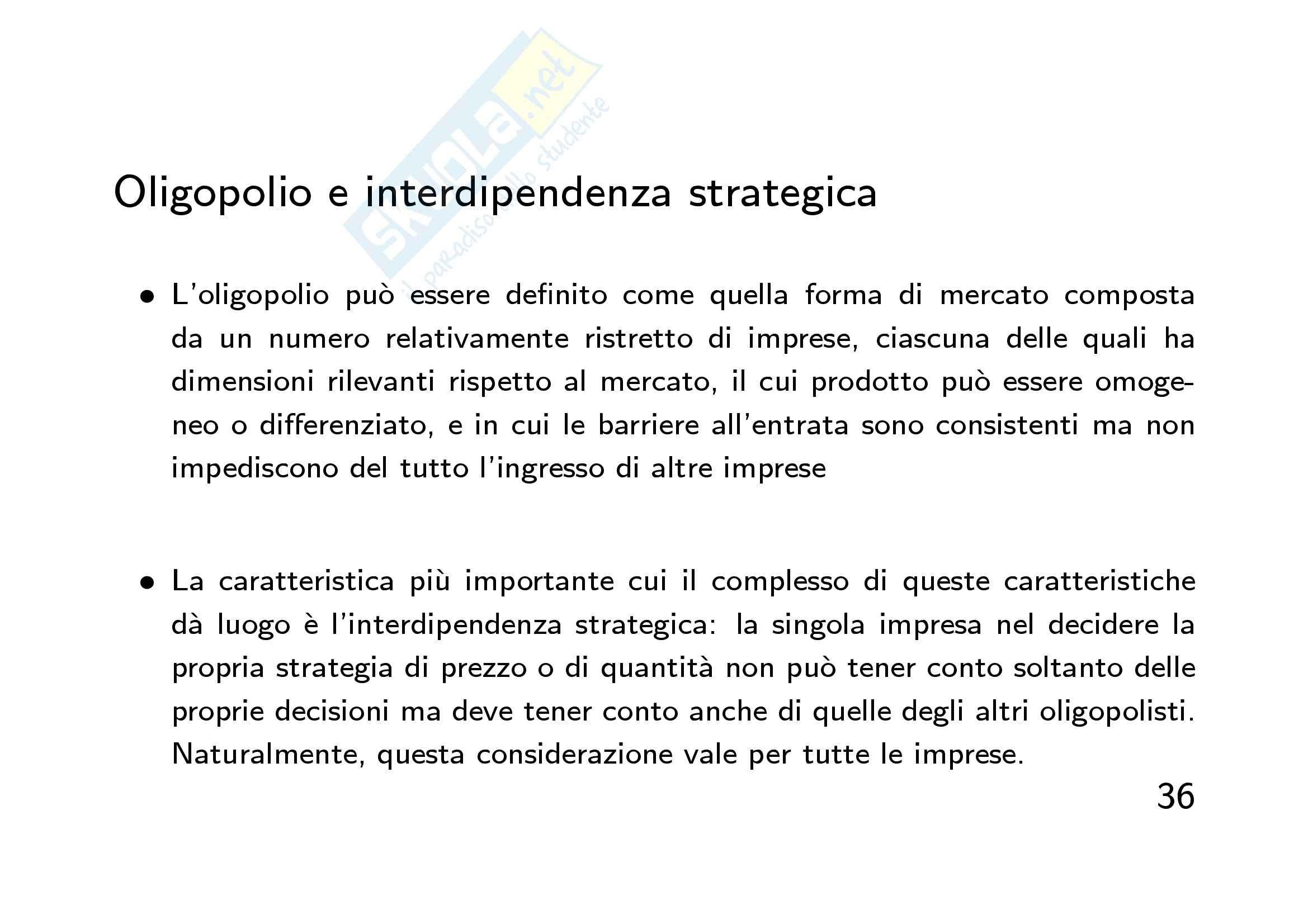 Economia finanziaria - la  mano invisibile Pag. 36