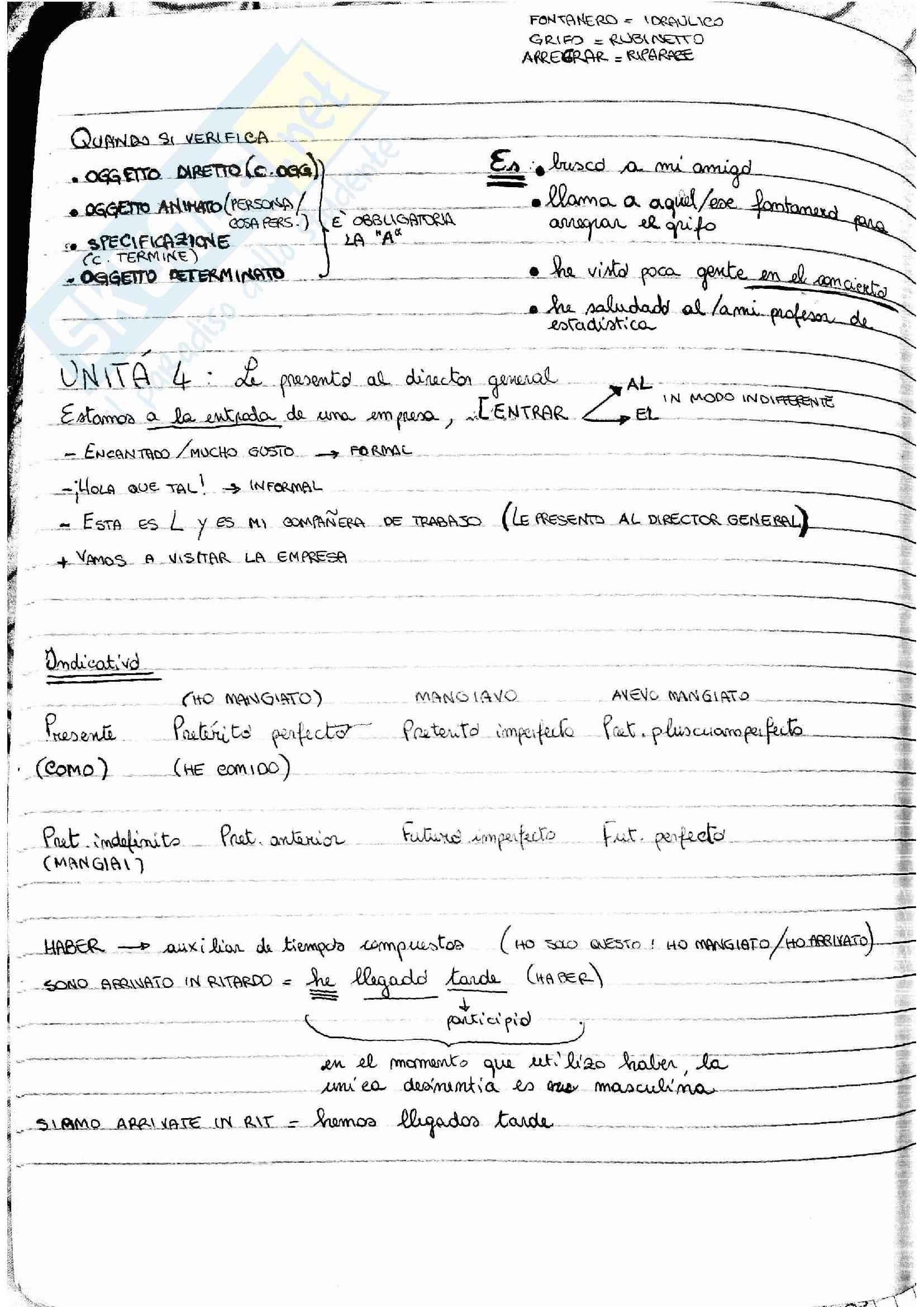Lessico per spagnolo B1 Pag. 11