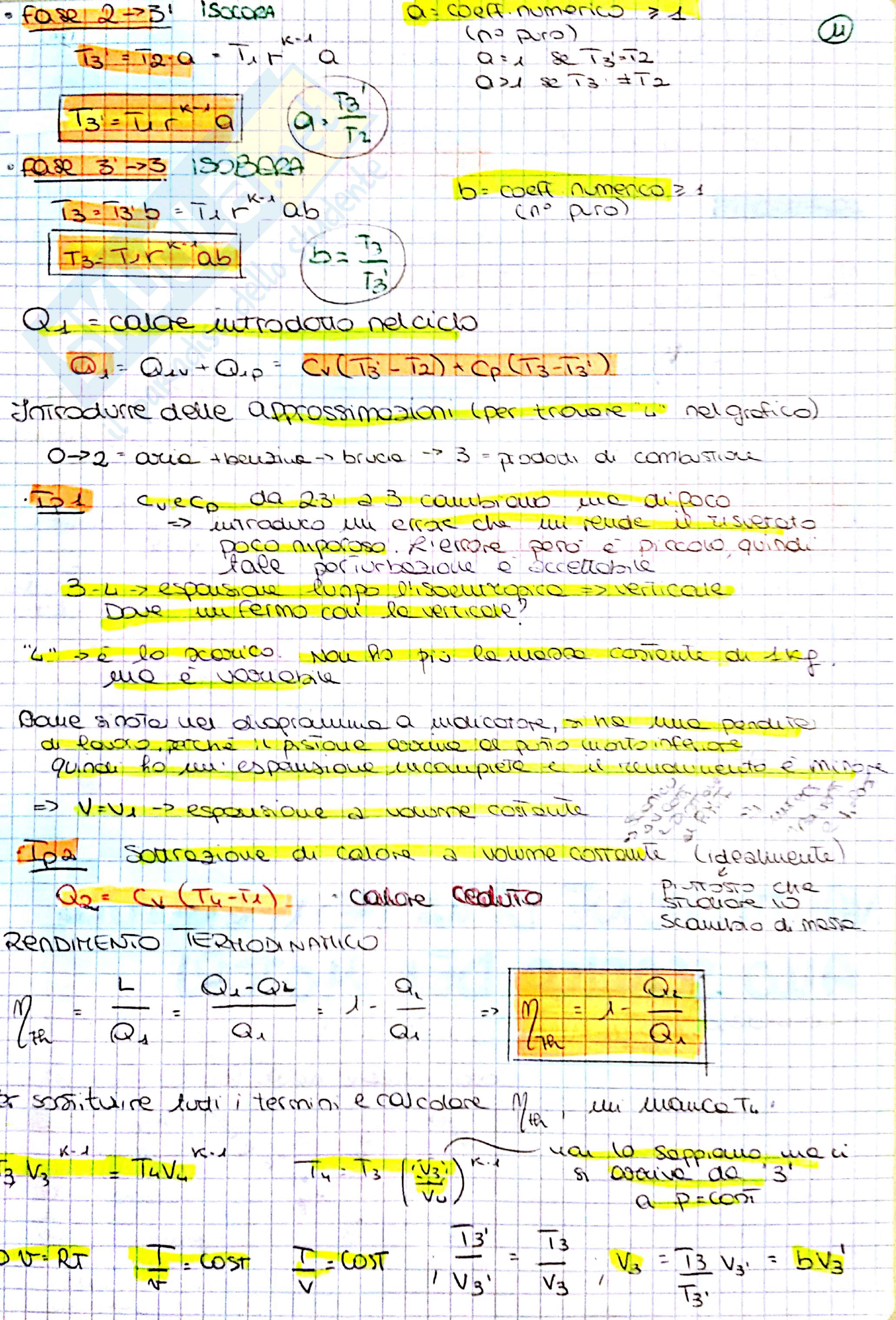 Propulsione Aeronautica, parte prof Minelli (3cfu) Pag. 11