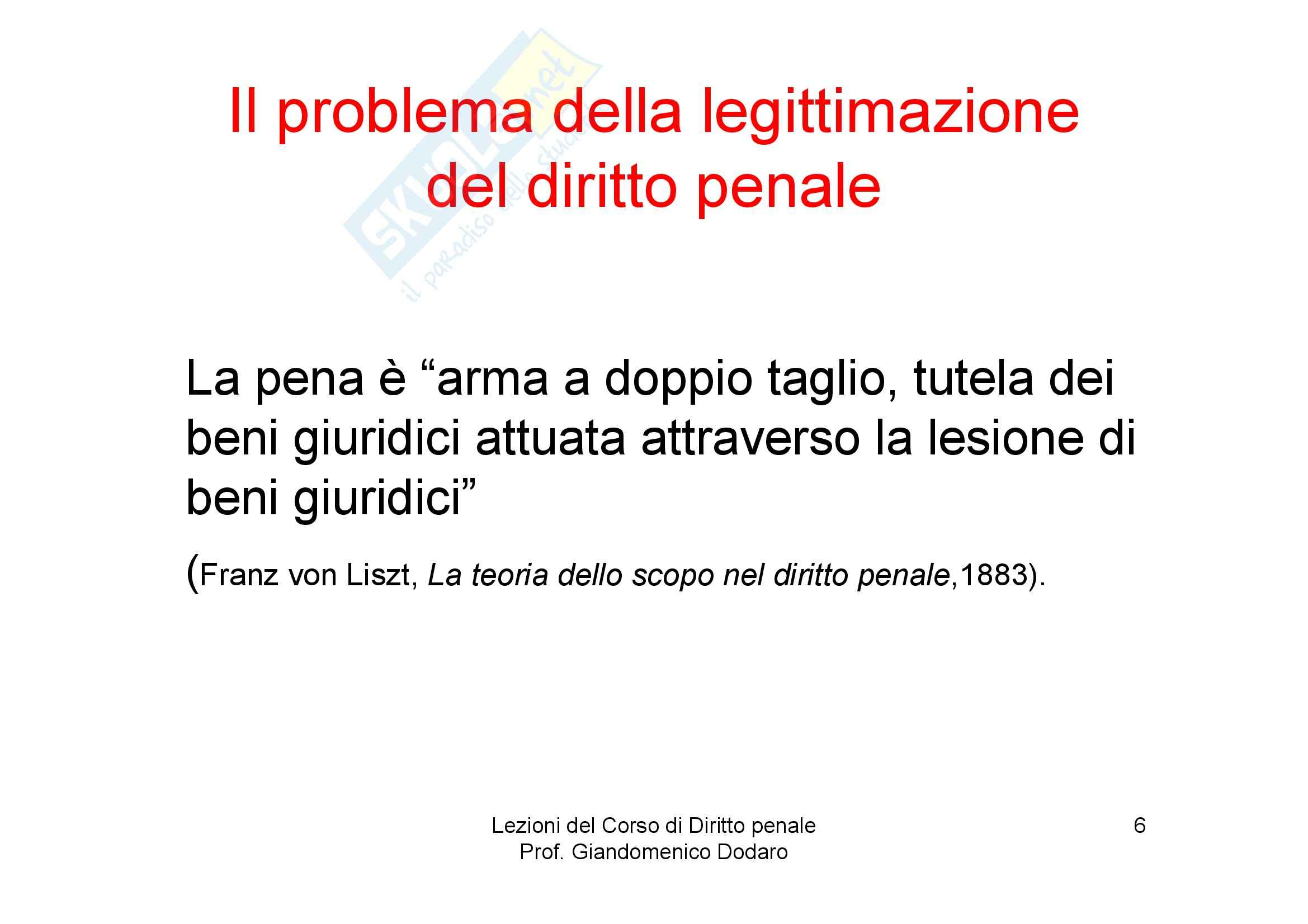 Diritto penale - Slide Pag. 6