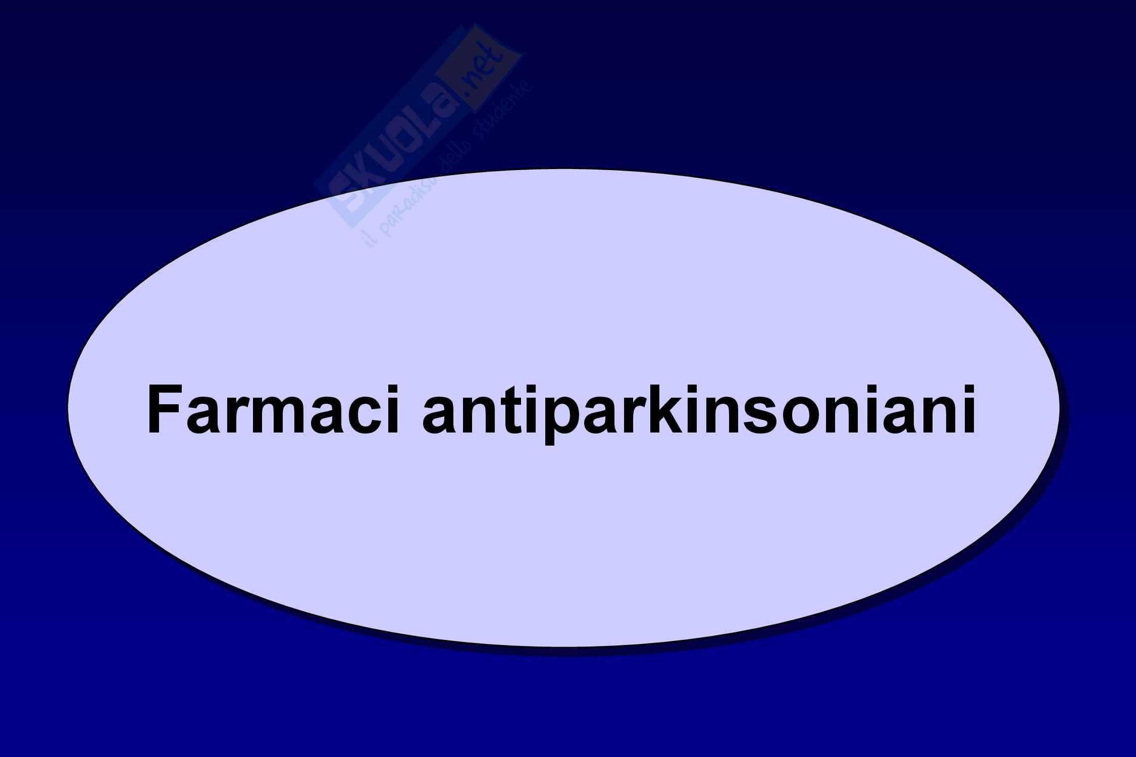 Farmaci antiparkinson