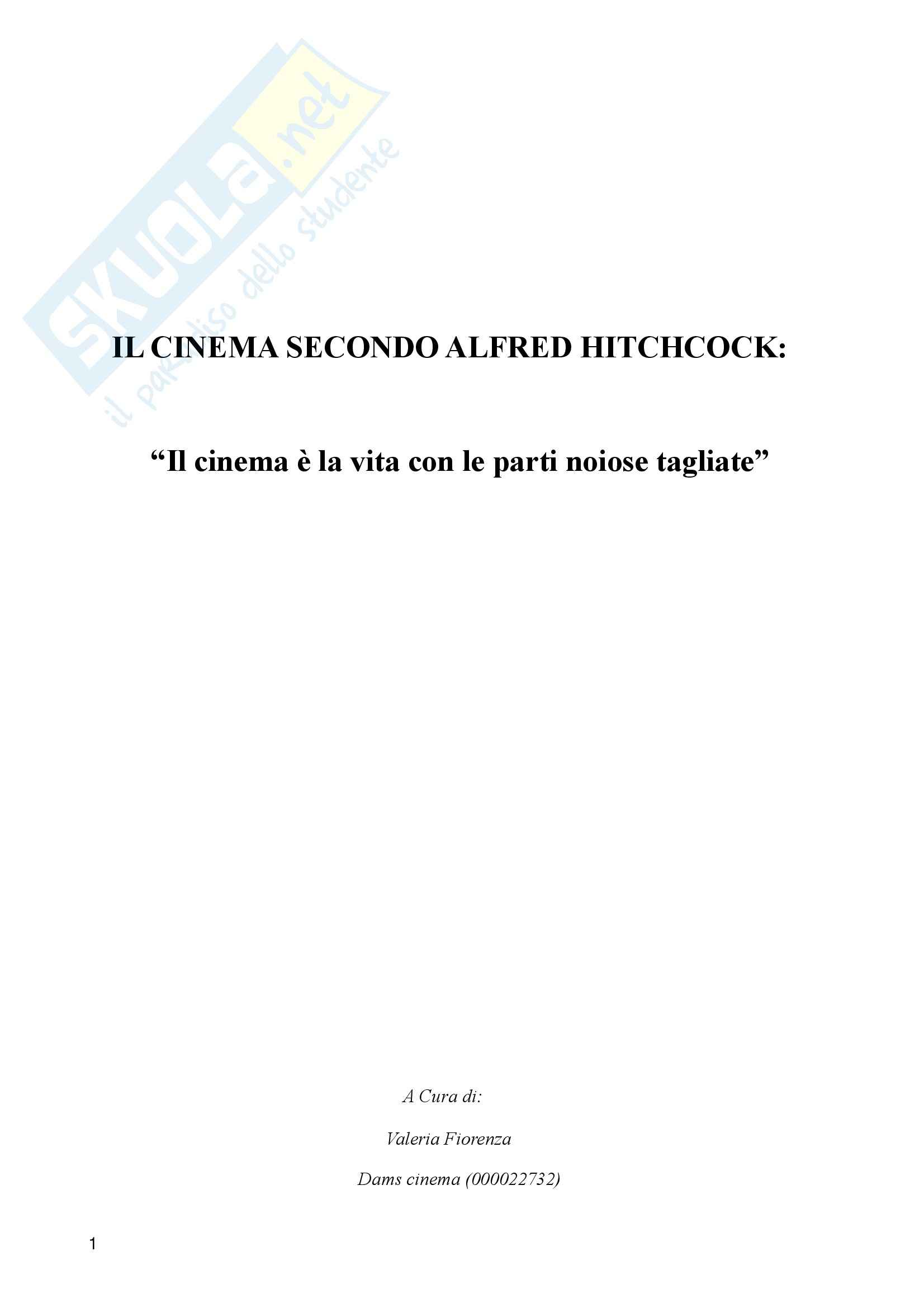 Cinema secondo Alfred Hitchcock, Teoria cinema