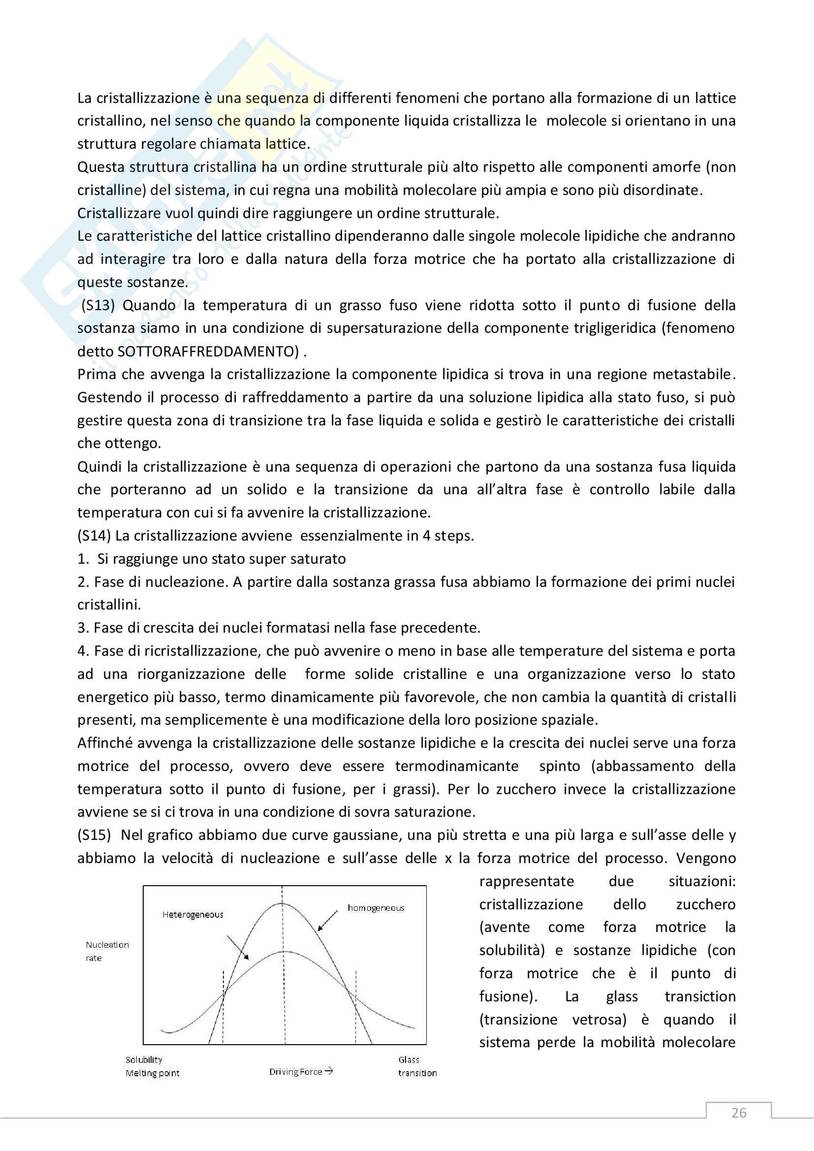 Tecnologia della Formulazione dei Prodotti Alimentari - Lezioni Pag. 26