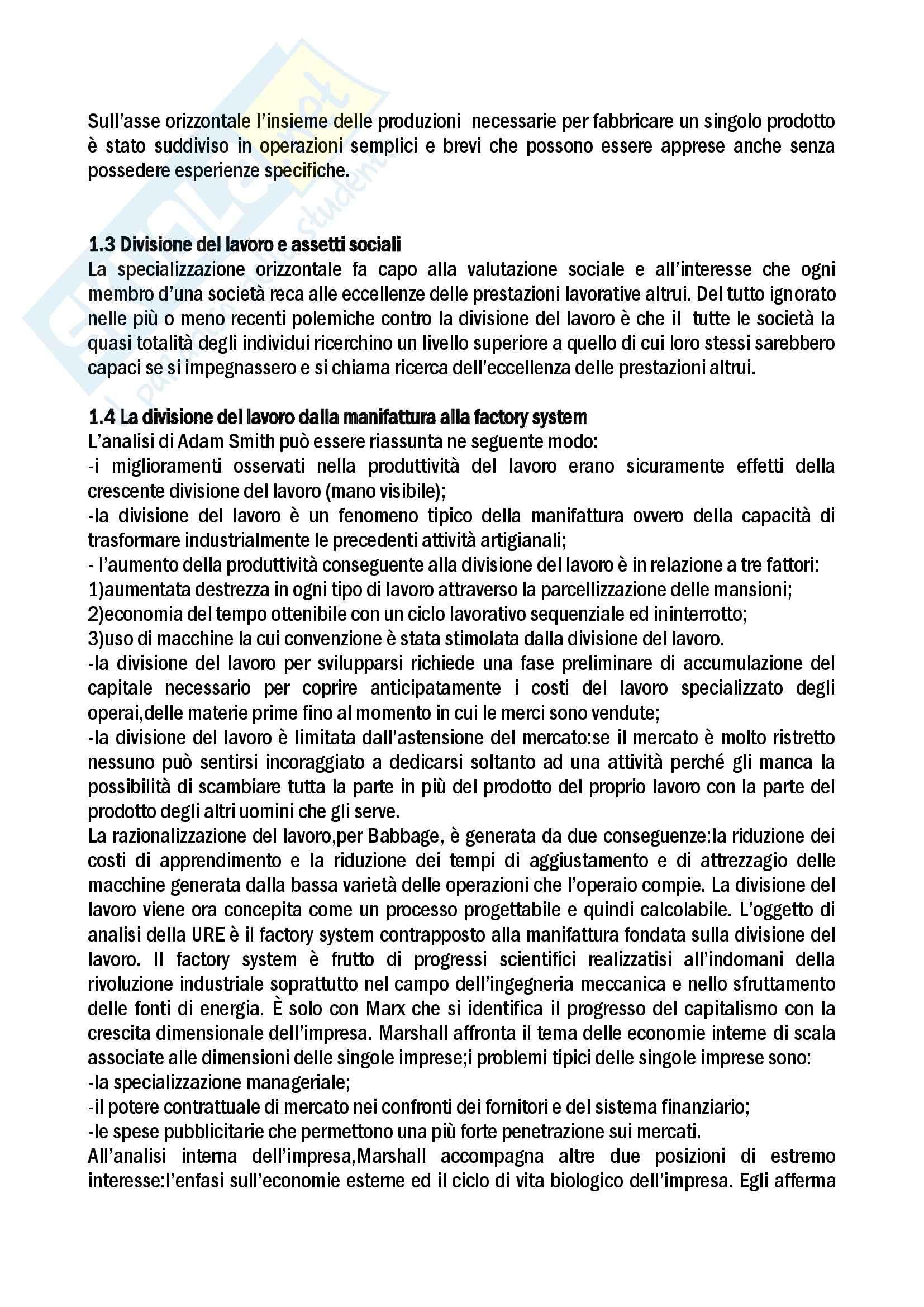 Sociologia dell'organizzazione e del lavoro Pag. 2