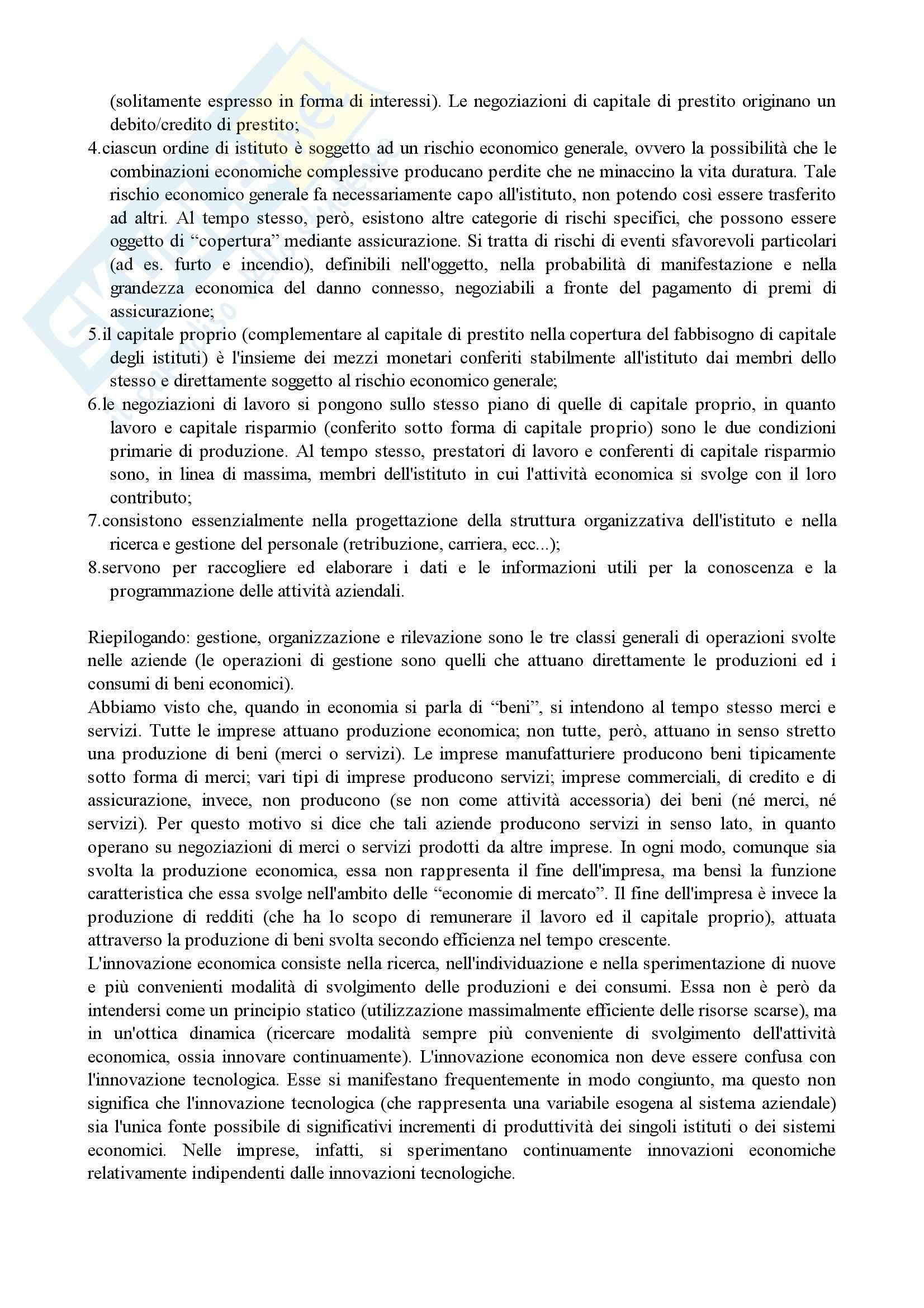 Economia aziendale - Appunti Pag. 2