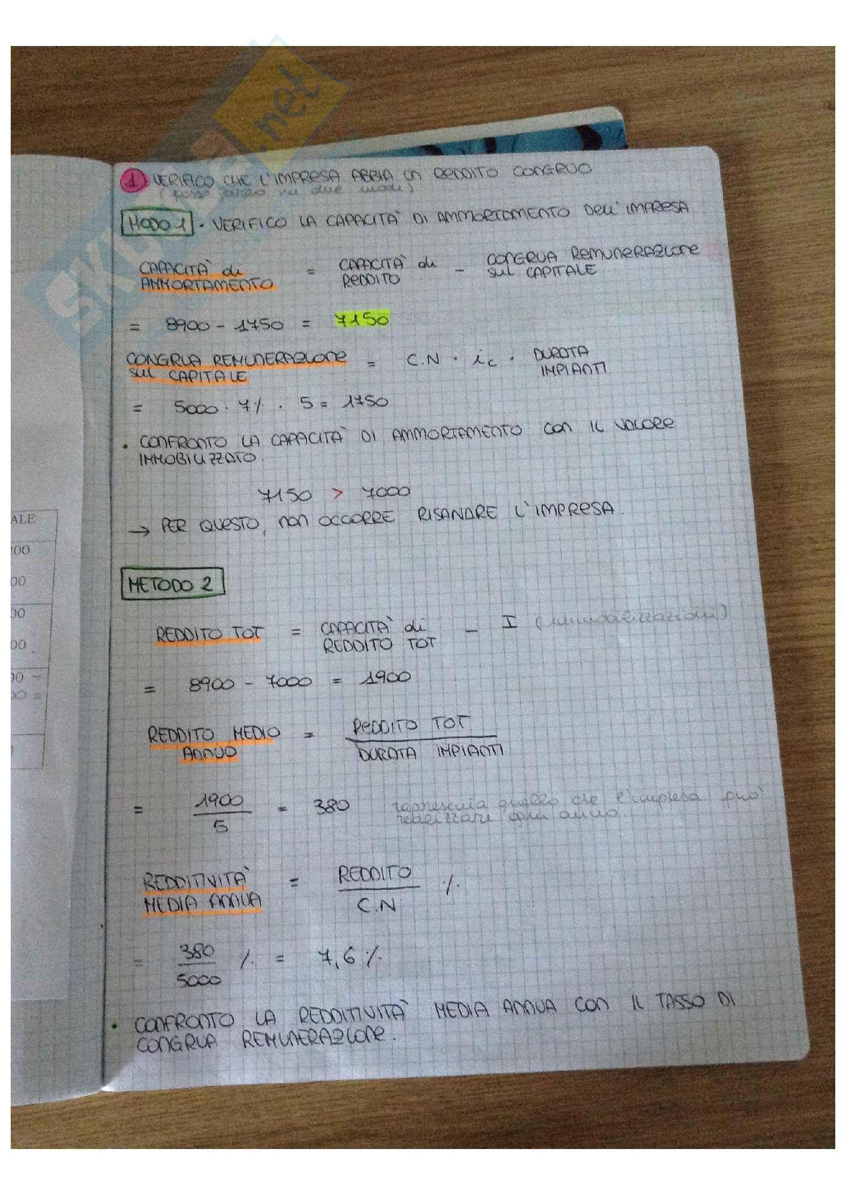Bilancio Lezioni + Esercitazioni Pag. 21
