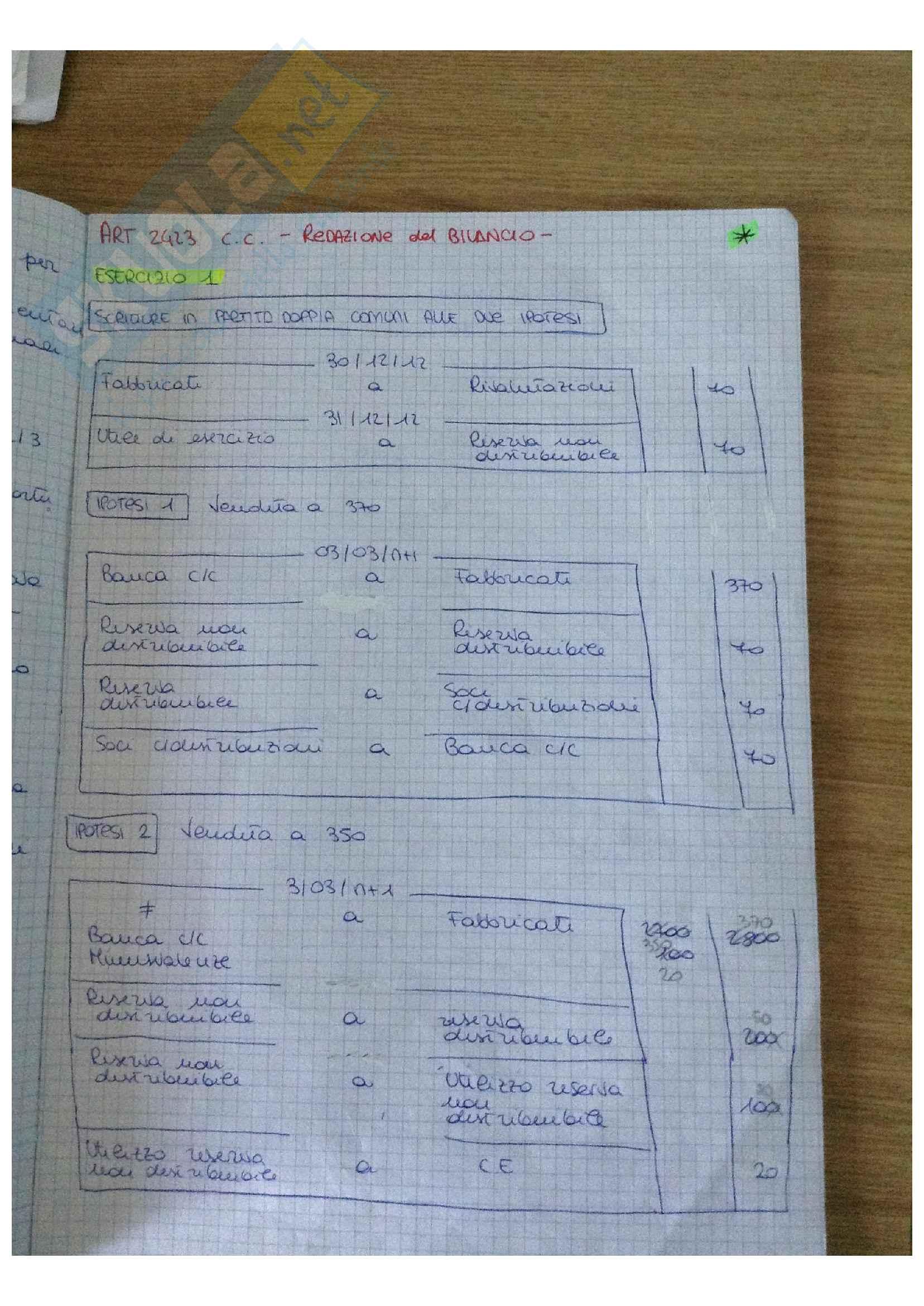 Bilancio Lezioni + Esercitazioni Pag. 41