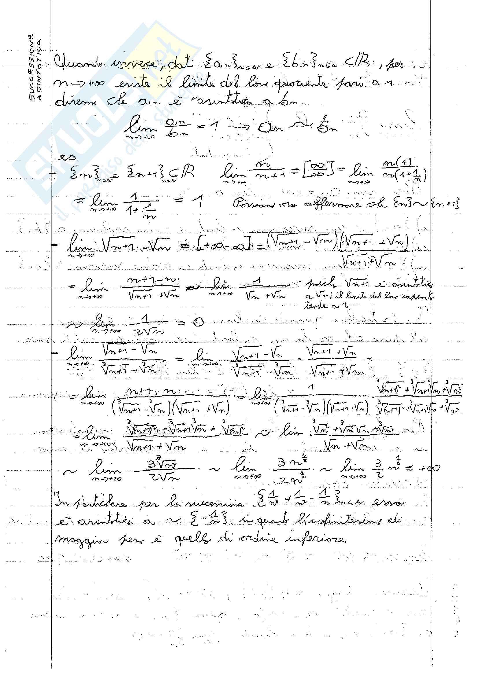 Analisi Matematica 1 - Appunti Pag. 26