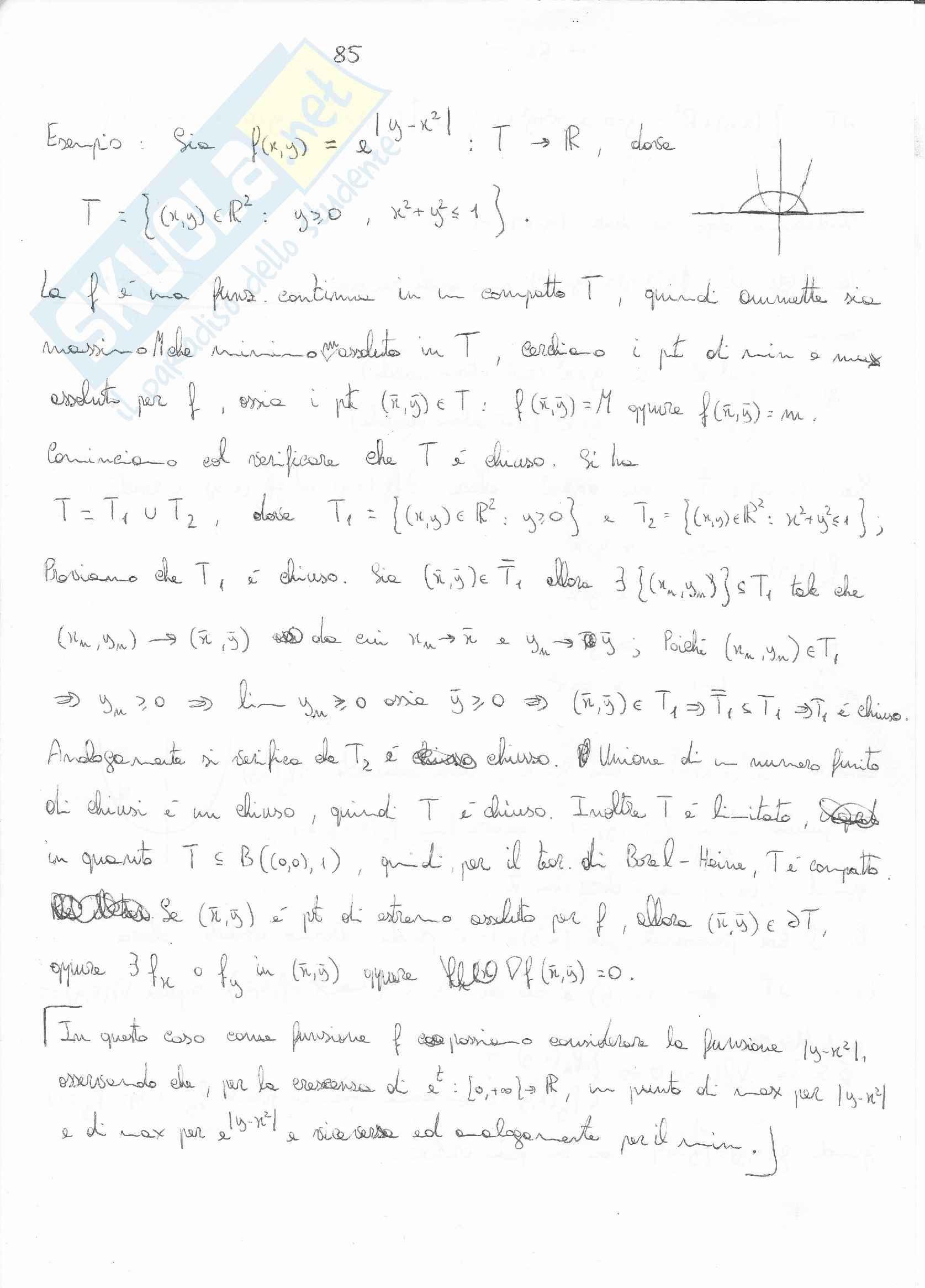 Analisi matematica - le curve in R2 e R3