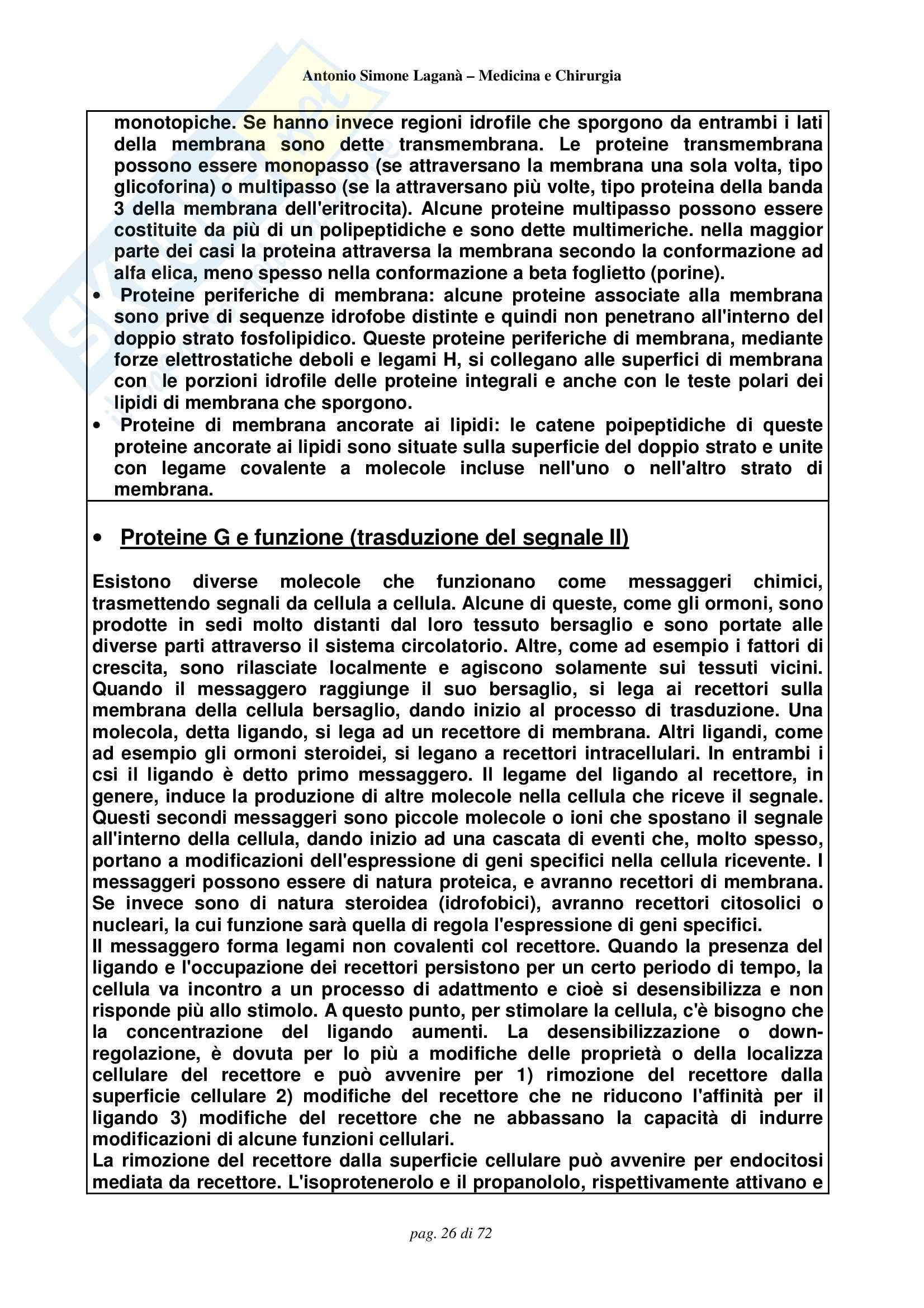 Biologia e Genetica - Compendio Pag. 26