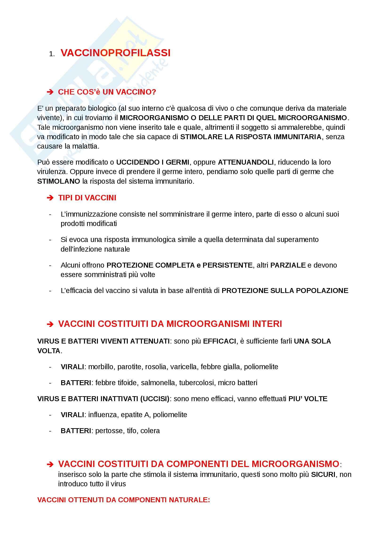 Igiene e sanità pubblica per le scienze motorie  - Appunti Pag. 41