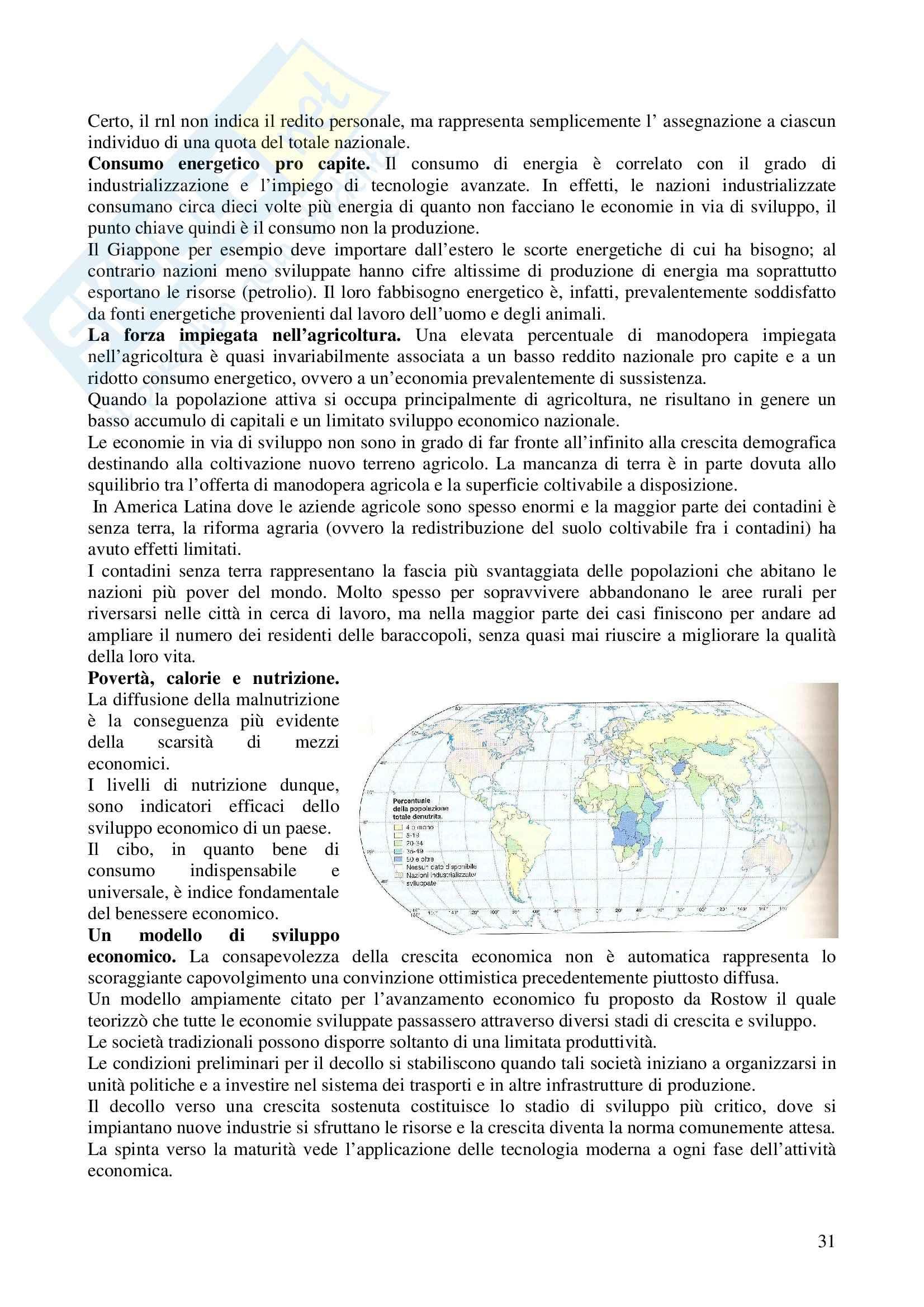 Riassunto esame Metodologia della Ricerca Geografica, prof. Trischitta, libro consigliato Geografia Umana, Fellman, Getis, Getis Pag. 31