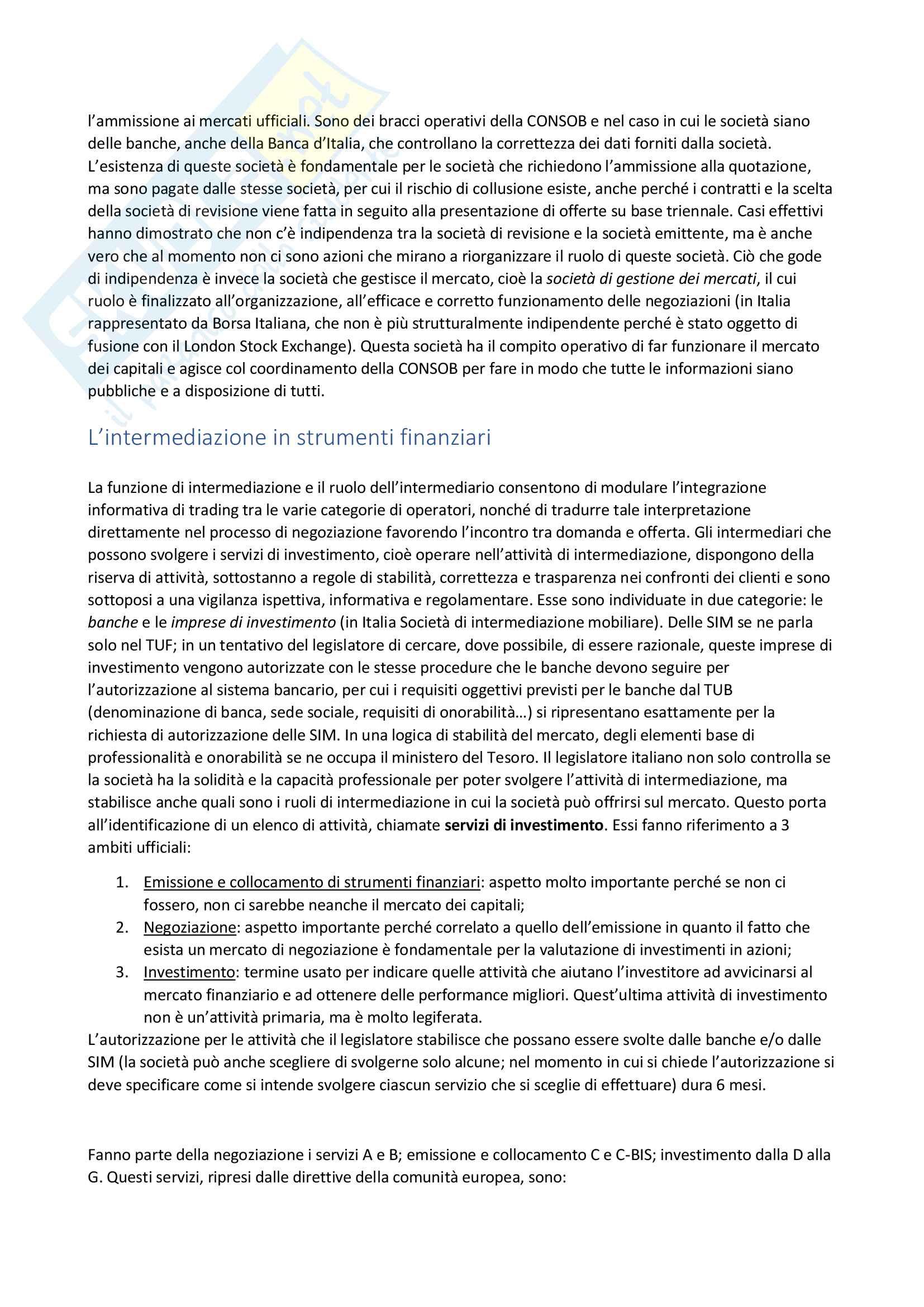 Appunti Economia del mercato mobiliare Pag. 31