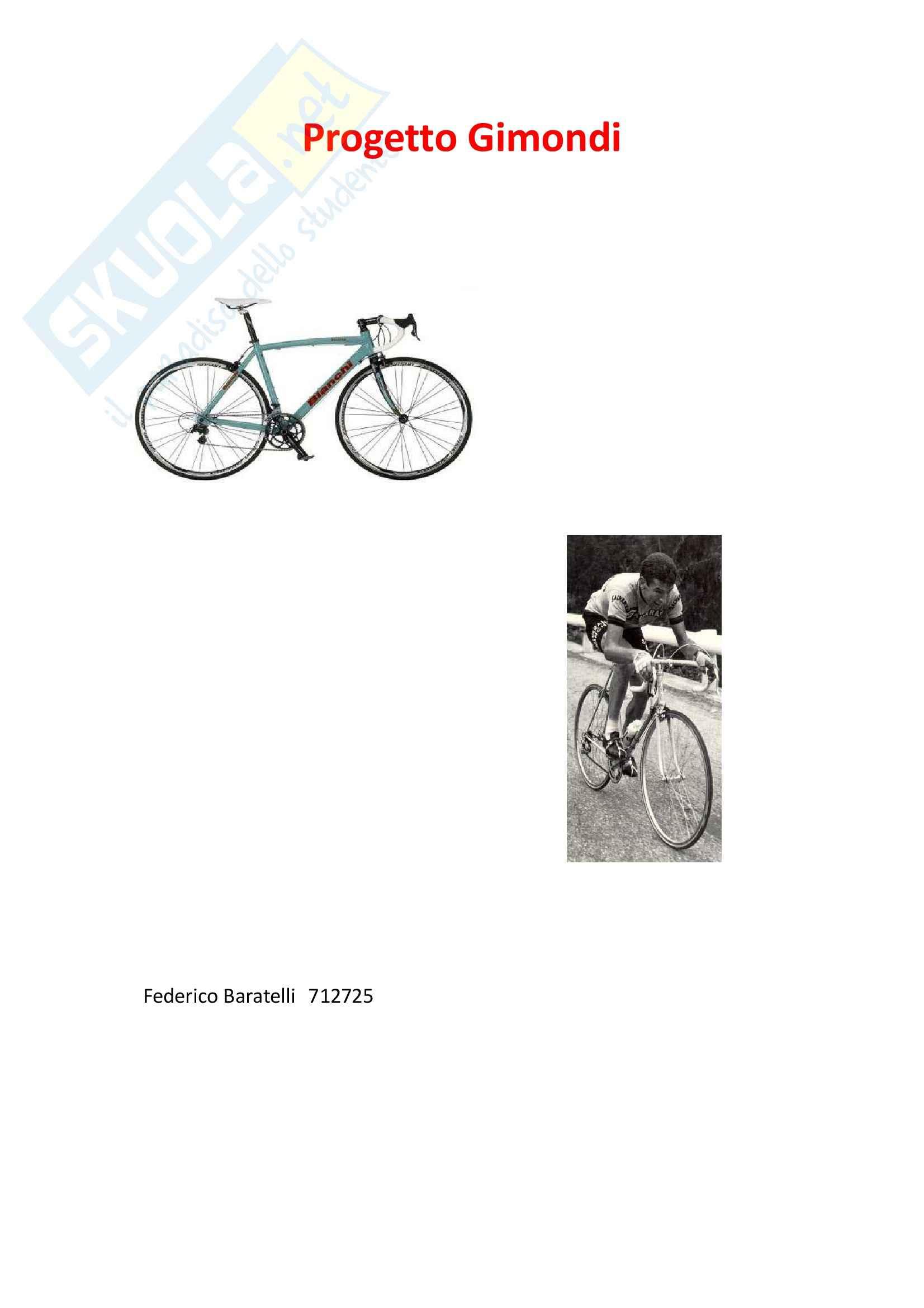 Analisi strutturale di un telaio di bicicletta
