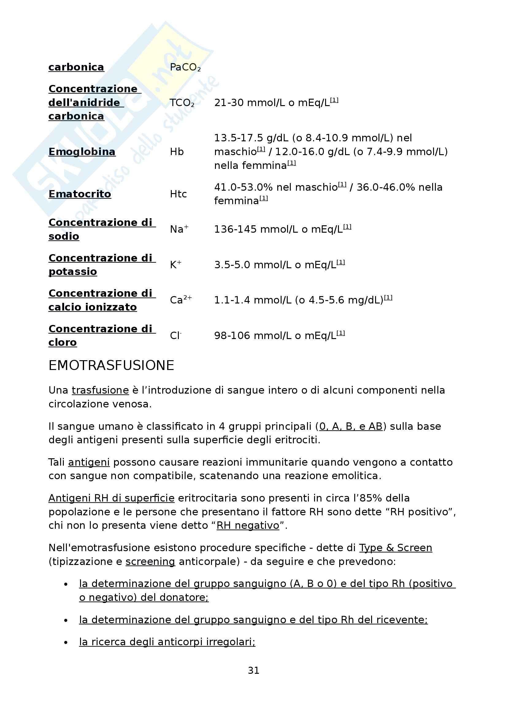 Tirocinio terzo anno - Relazione Pag. 31