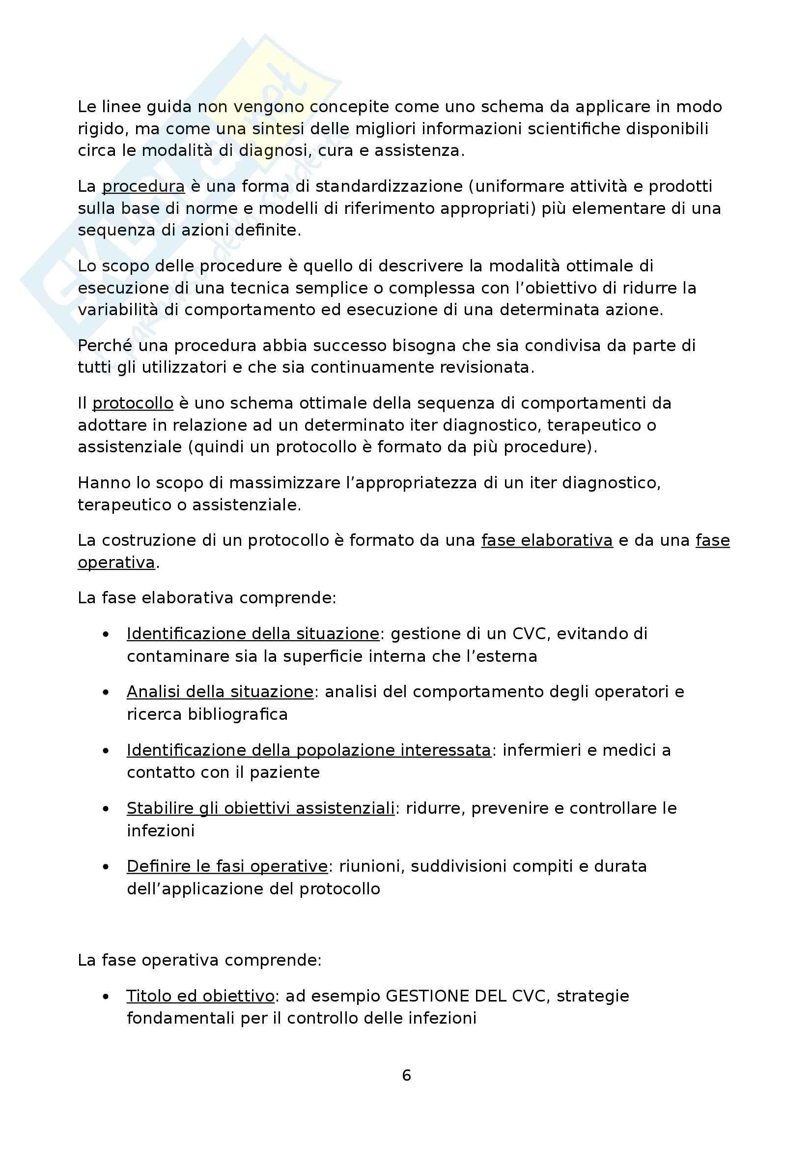 Tirocinio terzo anno - Relazione Pag. 6