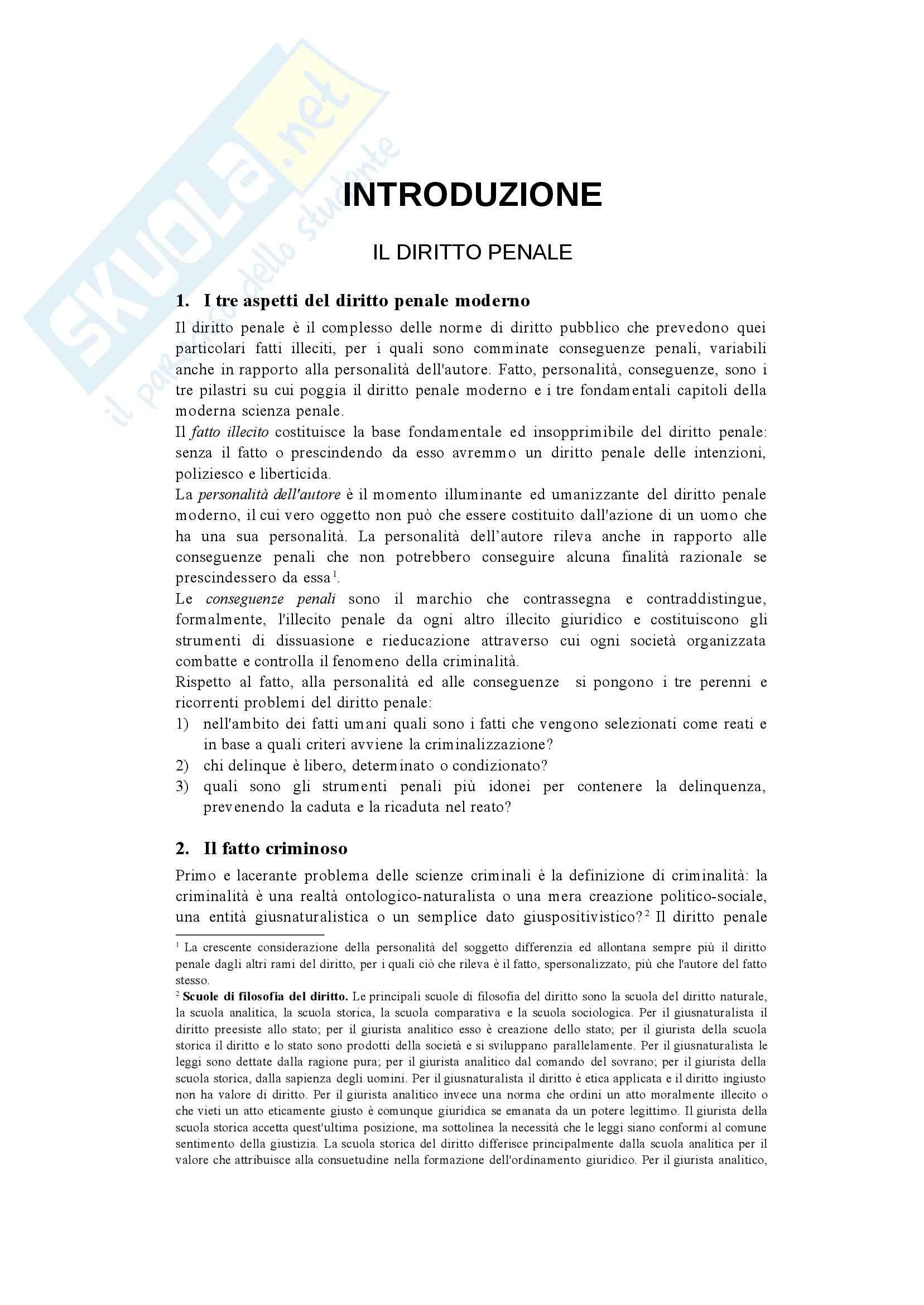 Riassunto esame Diritto Penale, prof. Sgubbi, libro consigliato Diritto Penale, Fiandaca, Musco